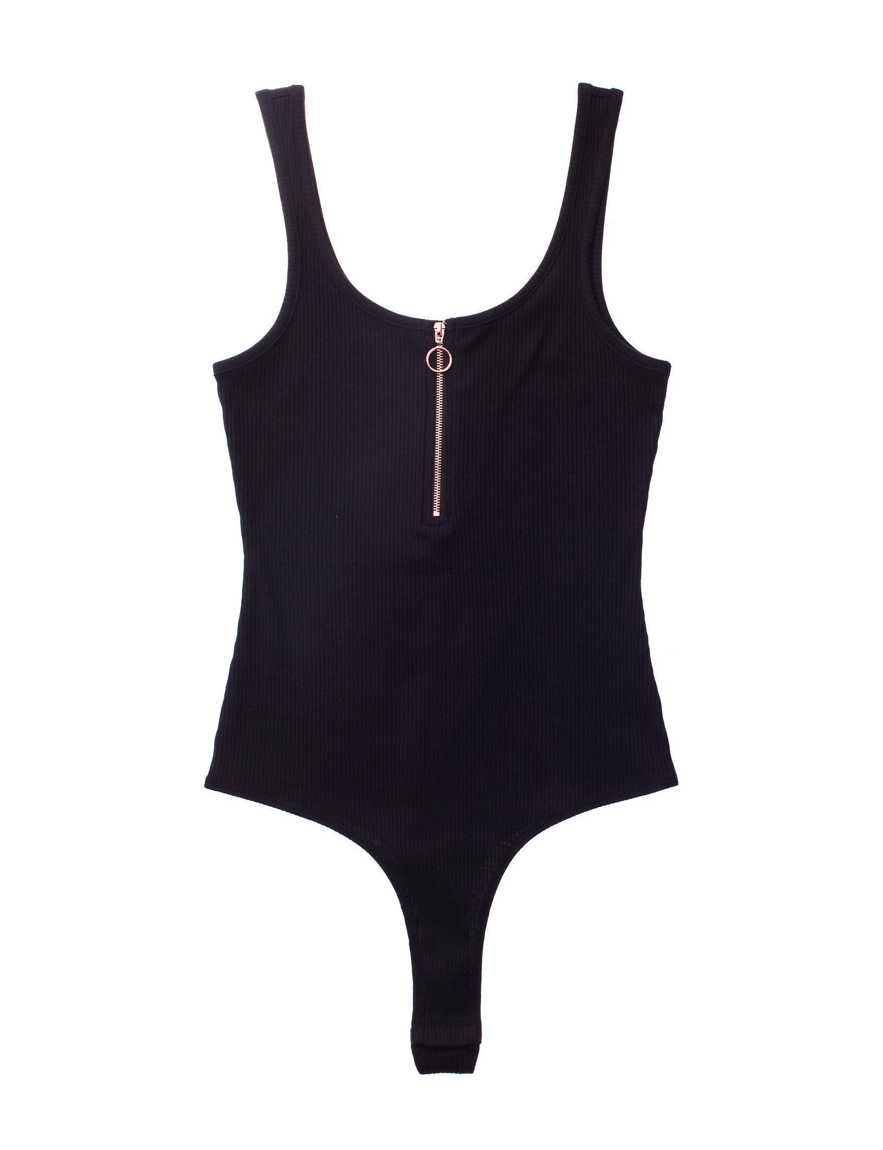 Wishful Park Black Bodysuit