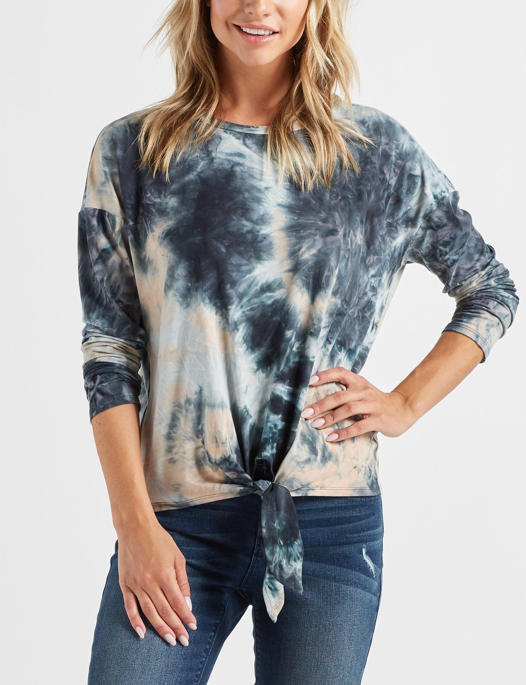 Signature Studio Tie Dye Shirts & Blouses
