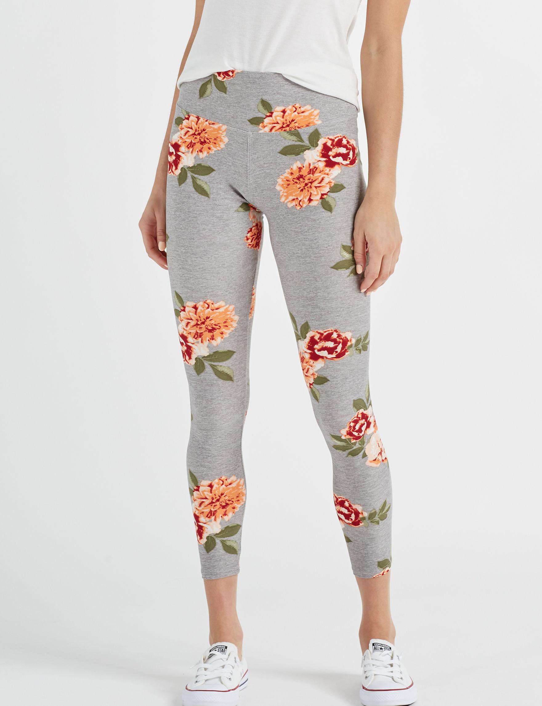 Justify Grey Soft Pants Stretch