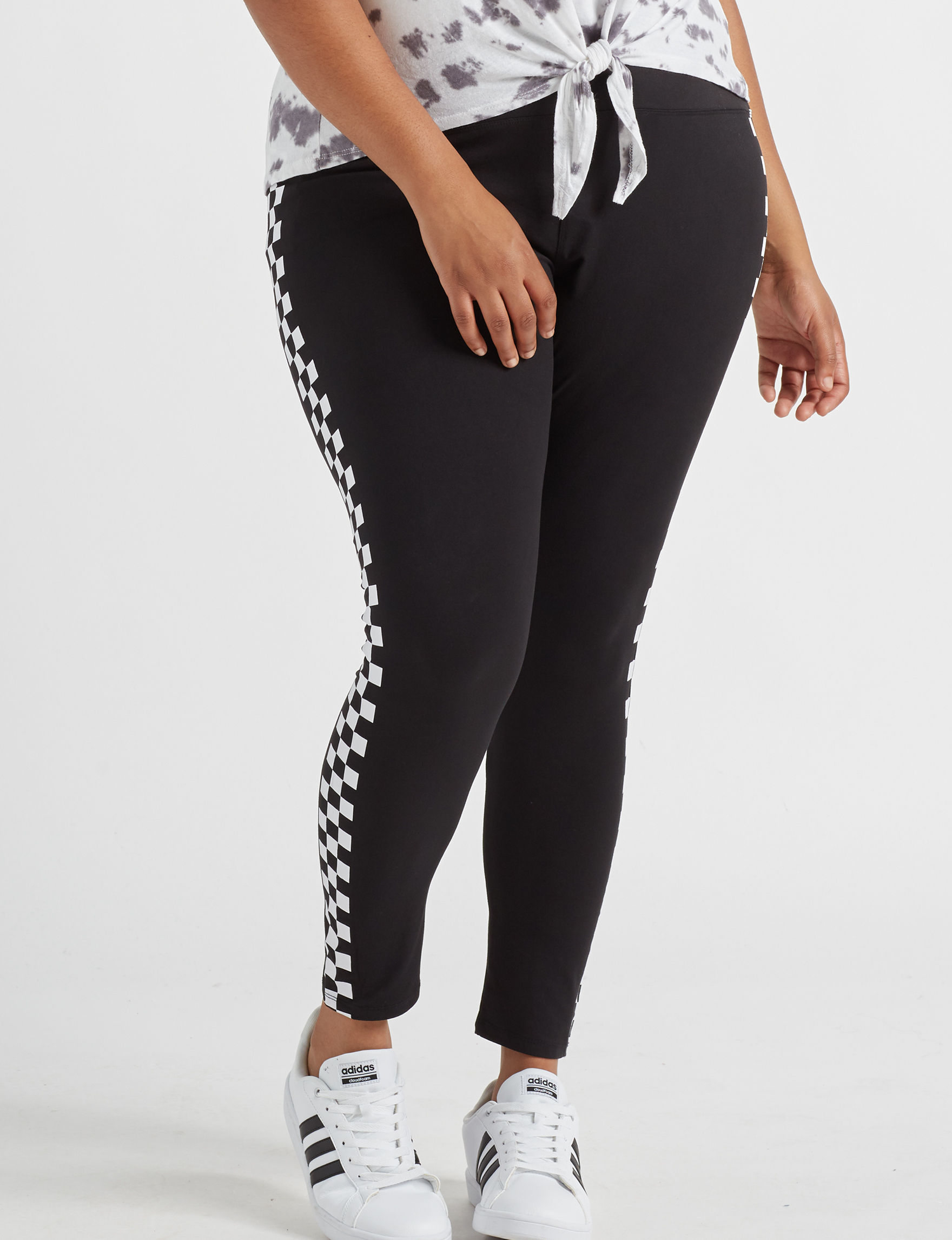 Justify Black Soft Pants