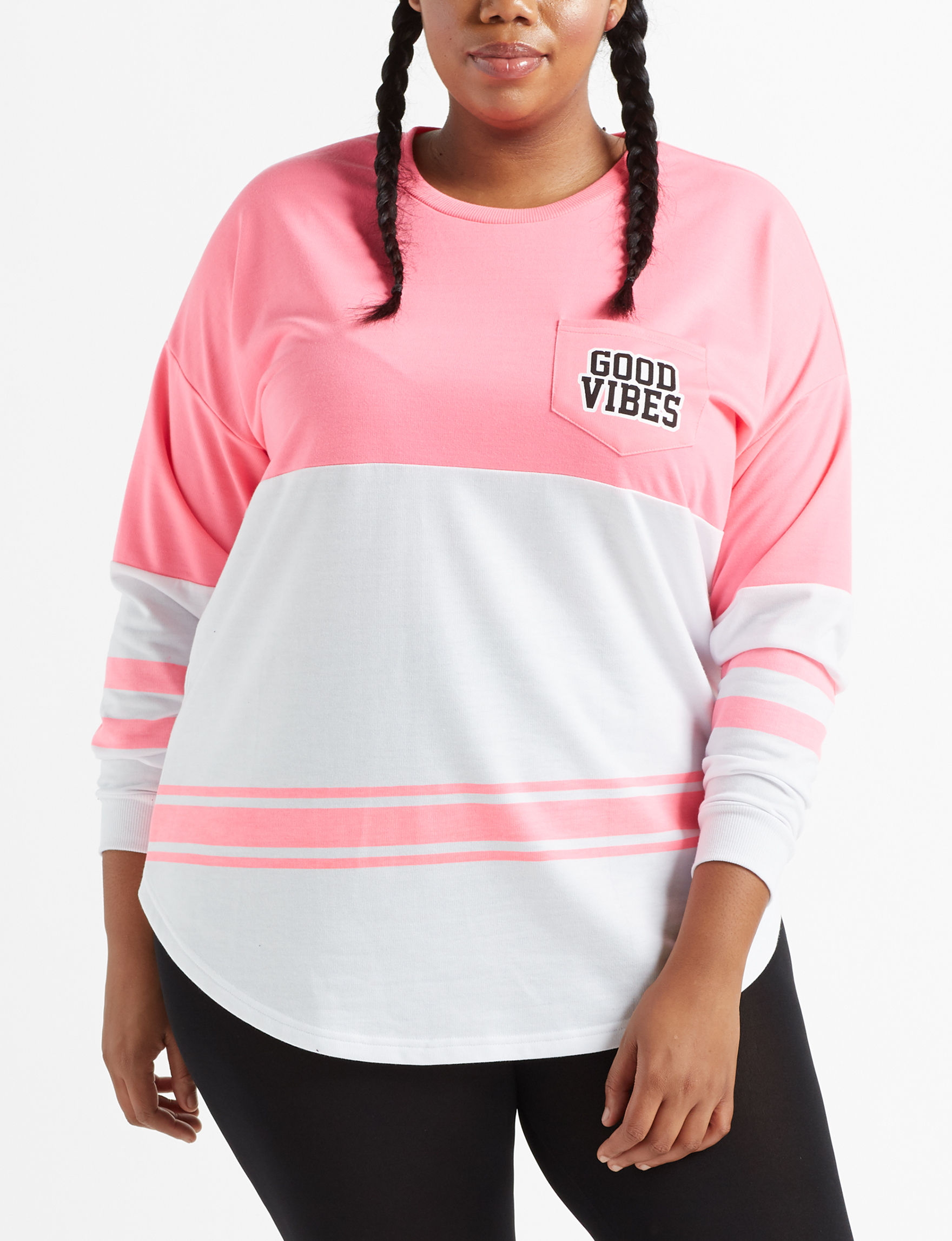 Justify Pink Pull-overs