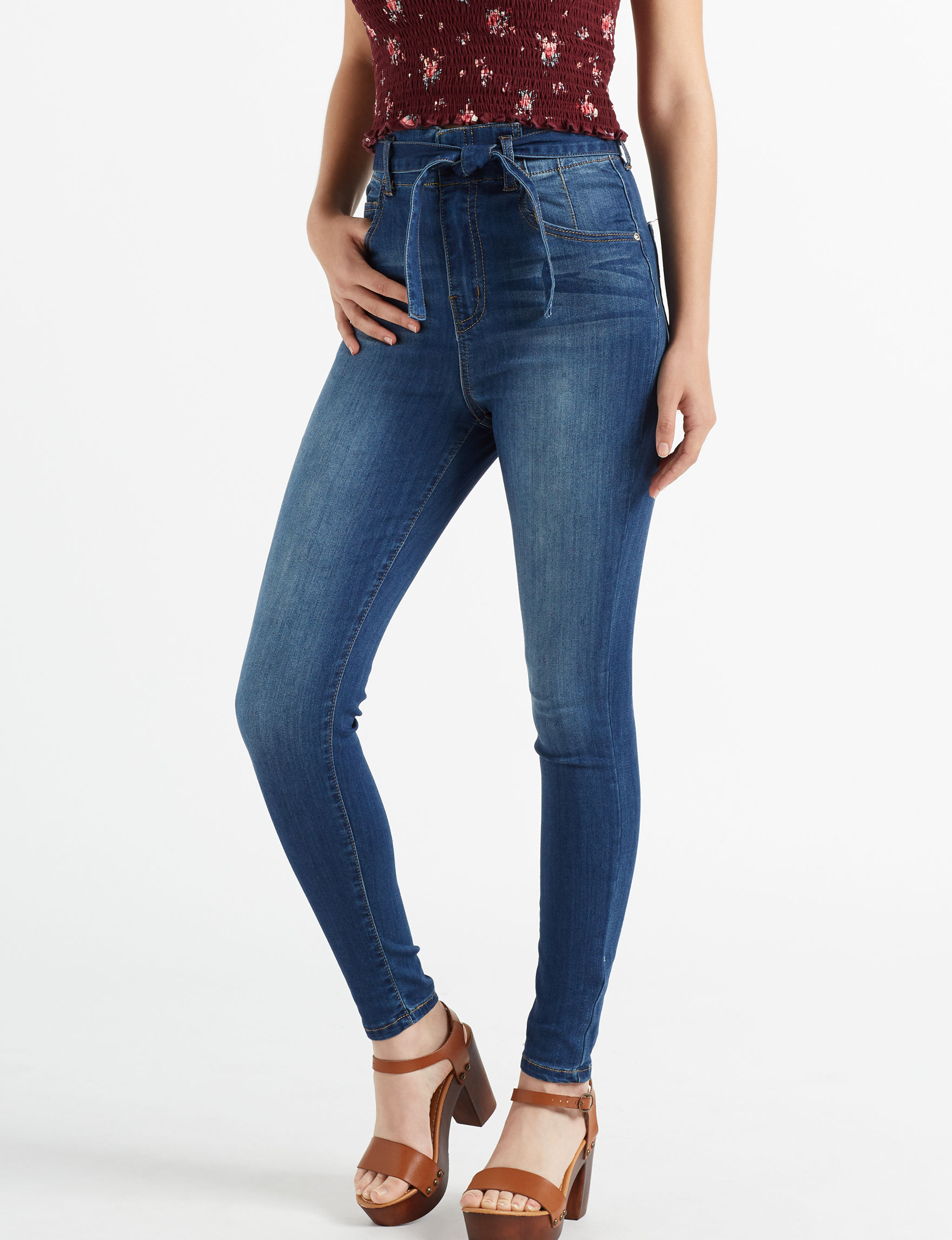 Almost Famous Dark Blue Skinny