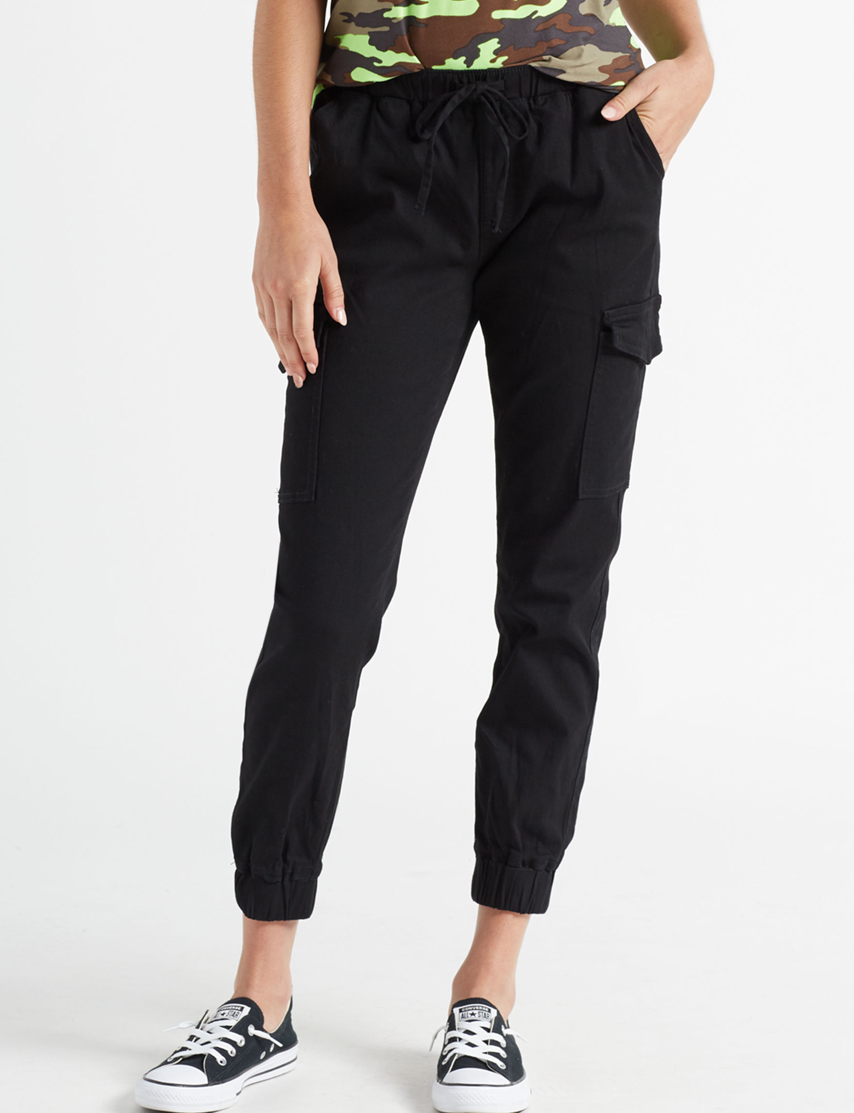 Almost Famous Black Jogger