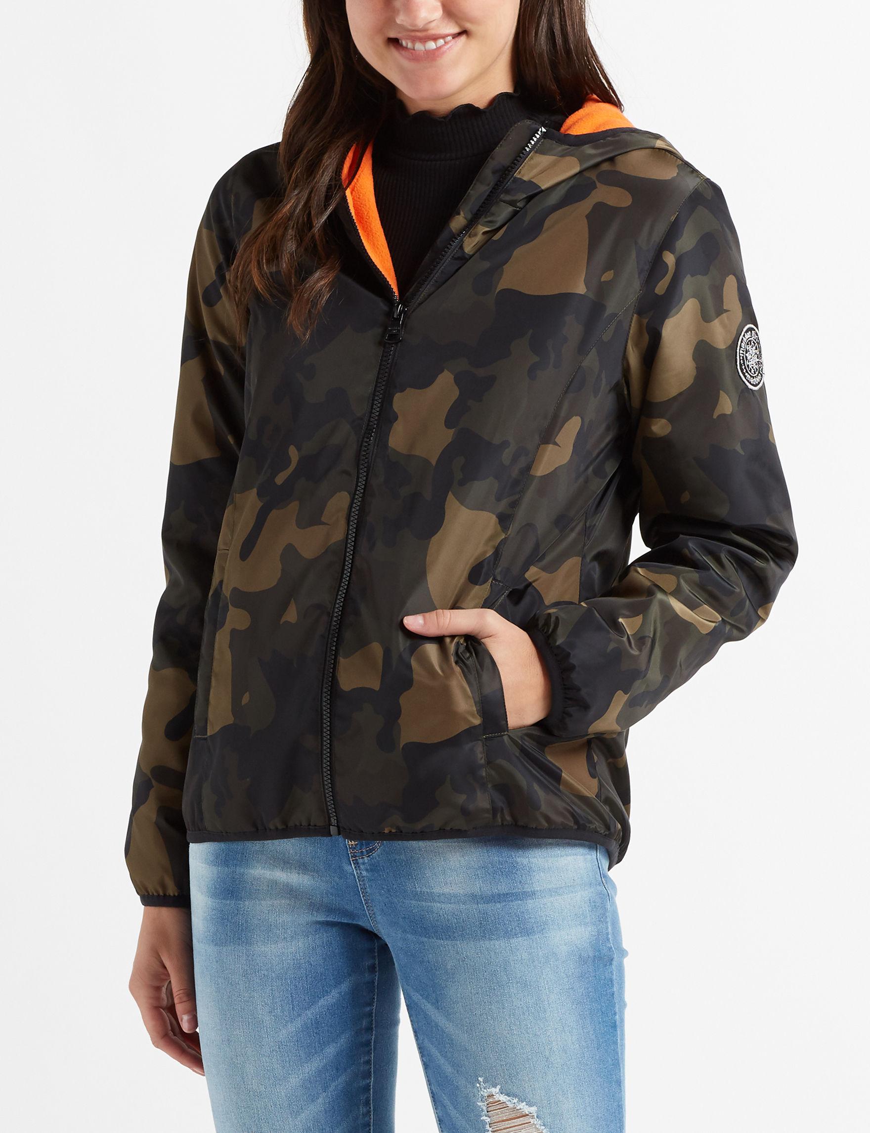 Madden Girl Camo Fleece & Soft Shell Jackets