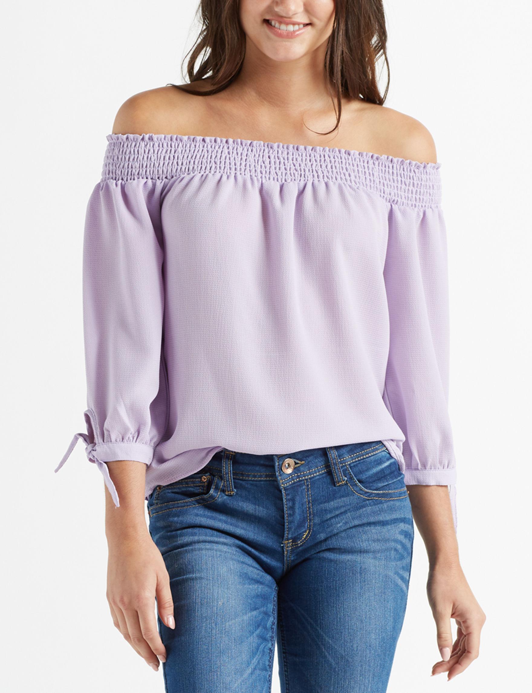 Wishful Park Lilac Shirts & Blouses
