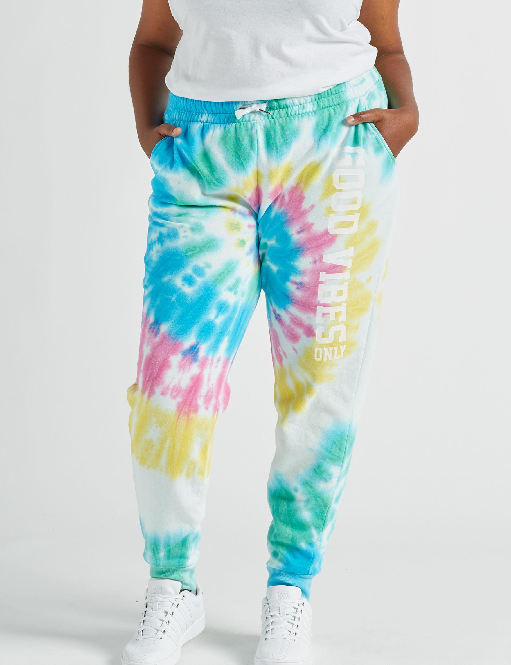 Justify Blue / Multi Soft Pants