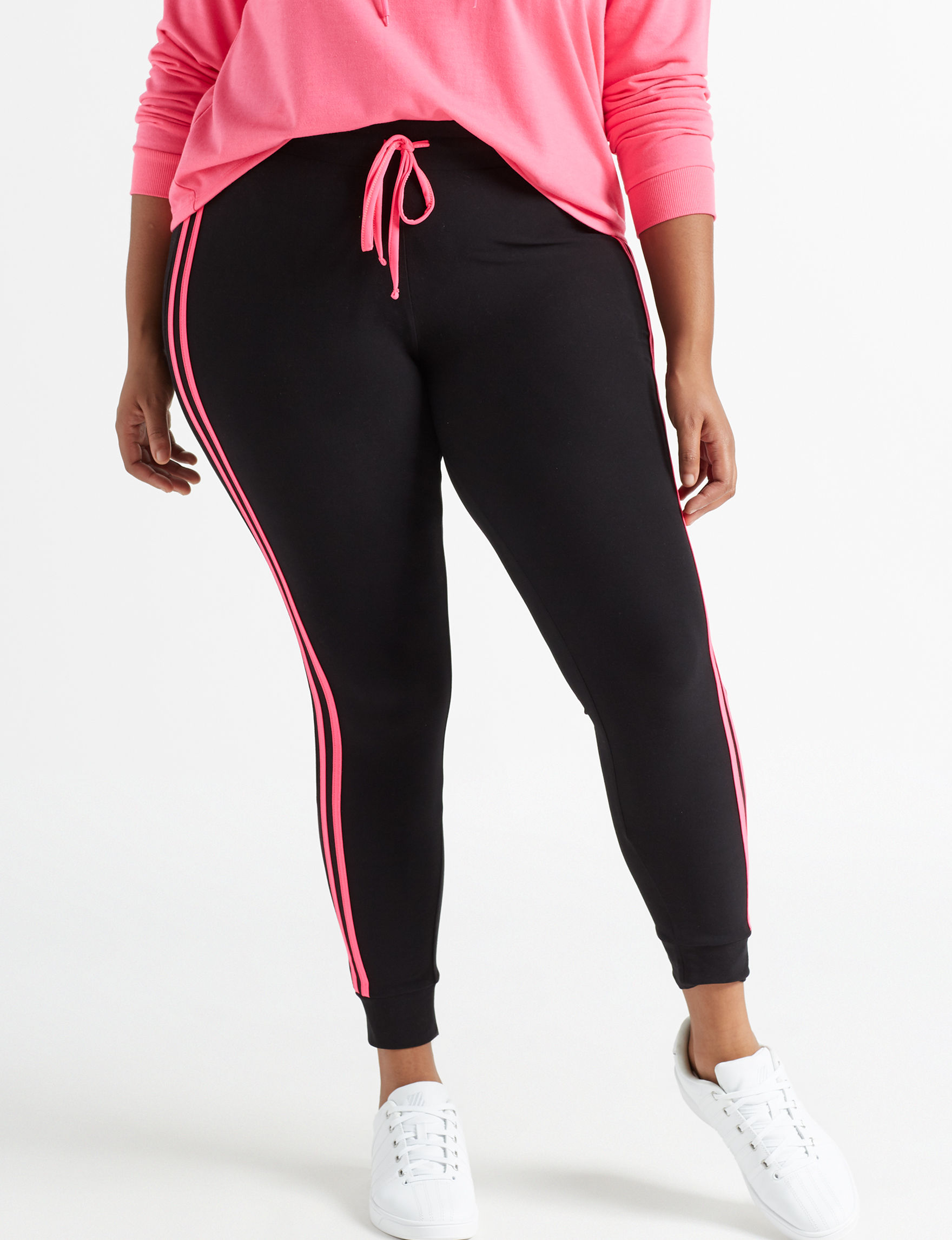 Ultra Flirt Black / Pink Soft Pants
