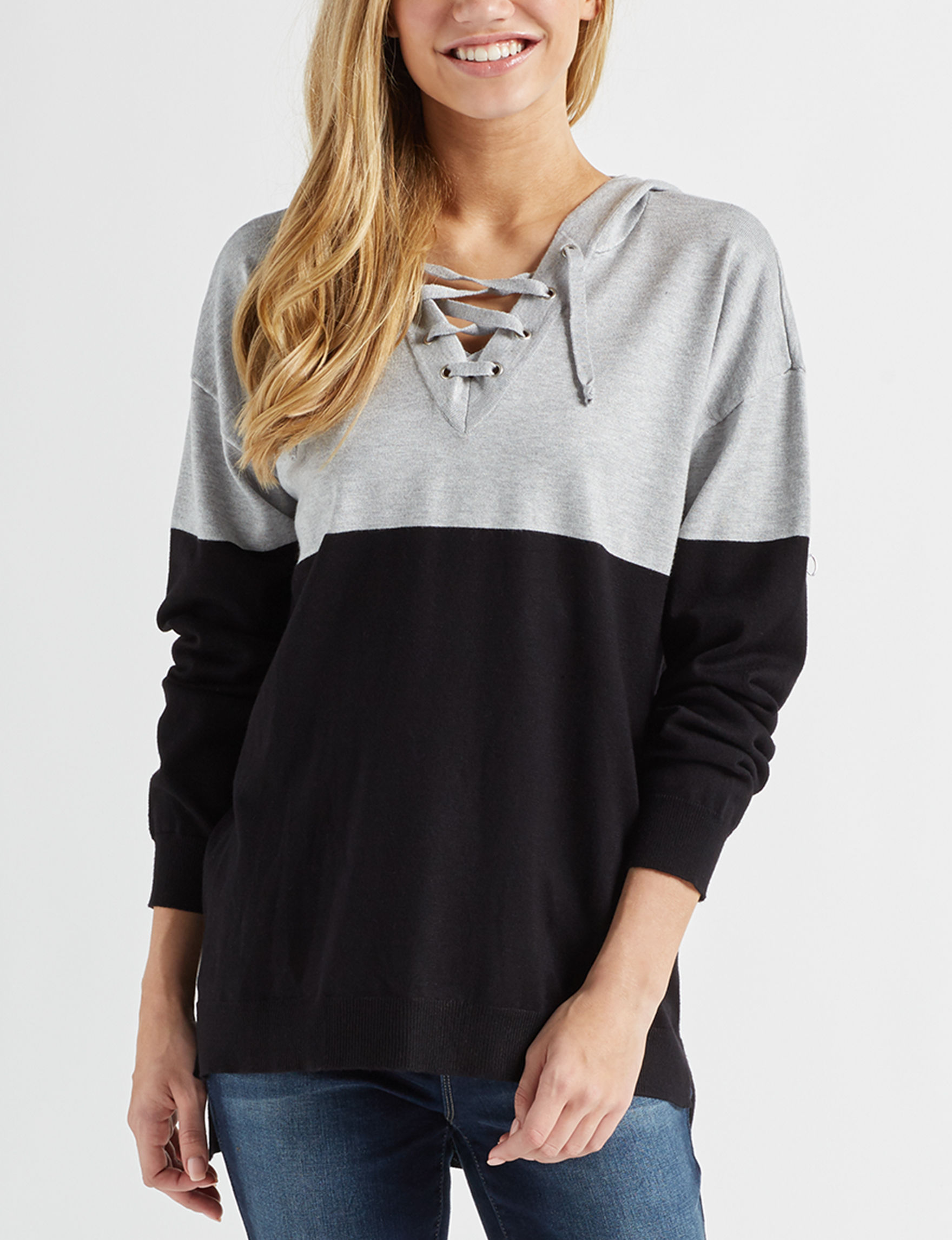 It's Our Time Black / Grey Pull-overs