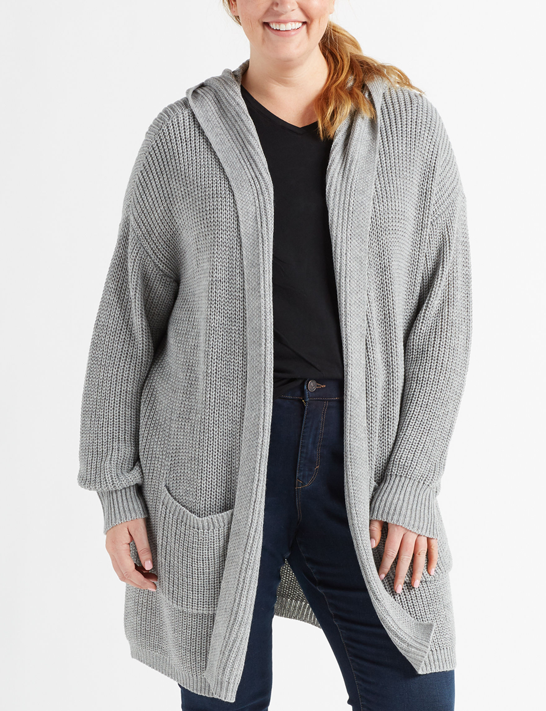 Almost Famous Grey Cardigans