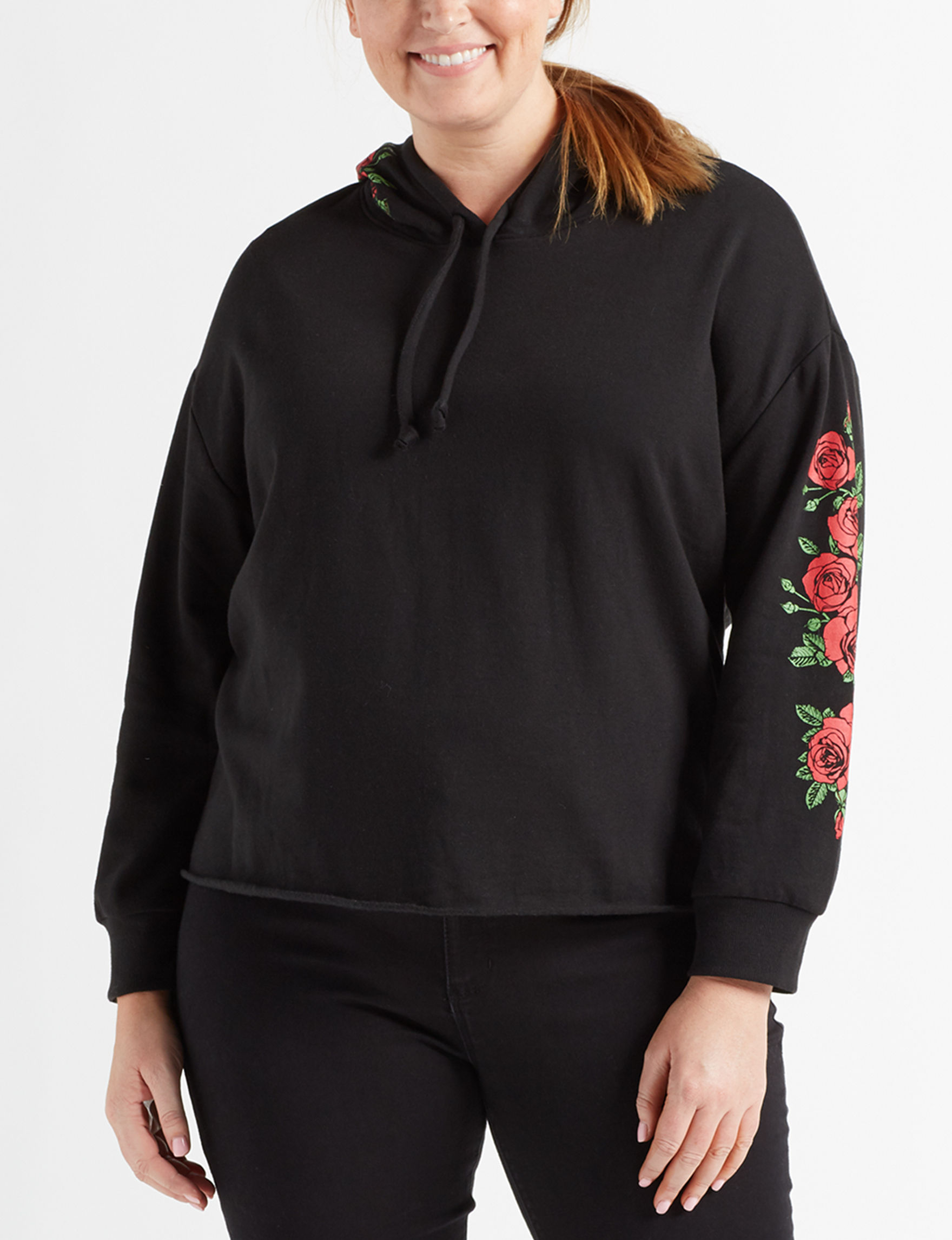 Rebellious One Black Pull-overs