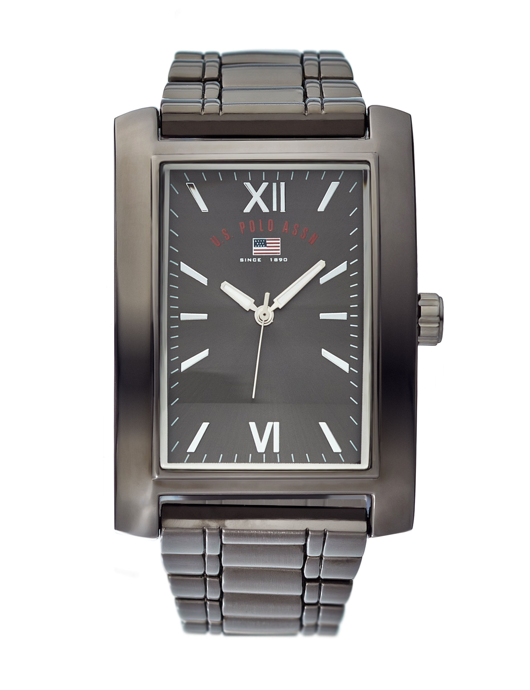U.S. Polo Assn. Gunmetal Fashion Watches