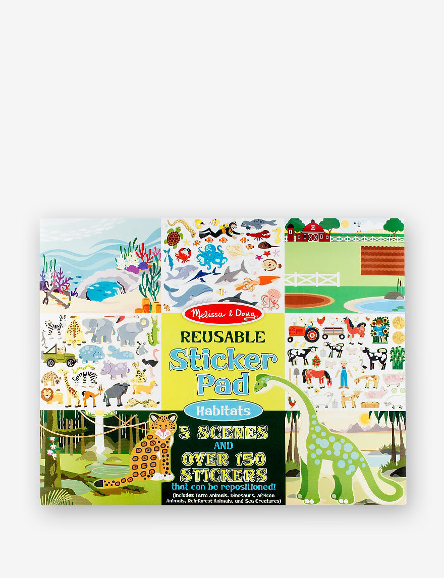 Upc 000772041966 Reusable Sticker Pad Habitats Upcitemdb Com