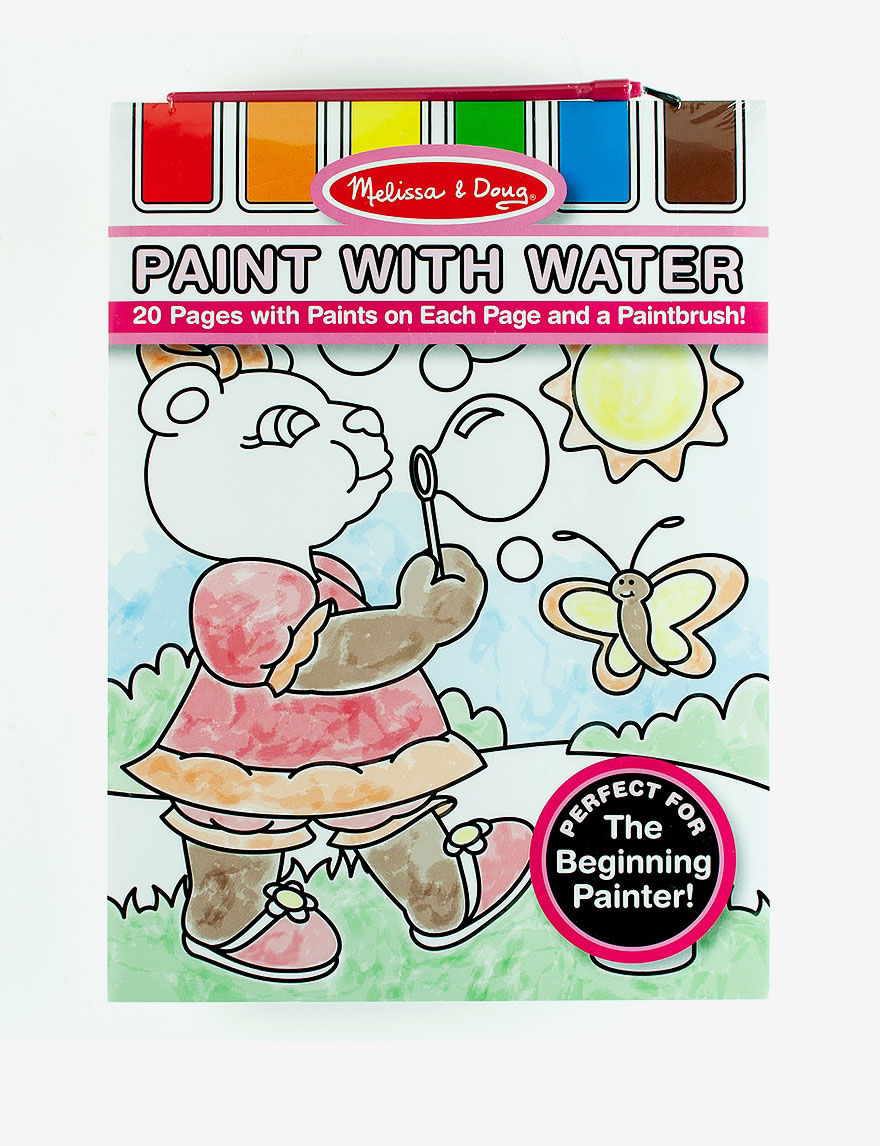 Melissa & Doug Paint with Water -  - Melissa & Doug