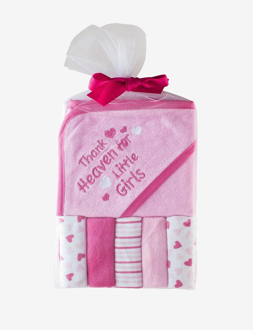 Cutie Pie Pink Hooded Towels