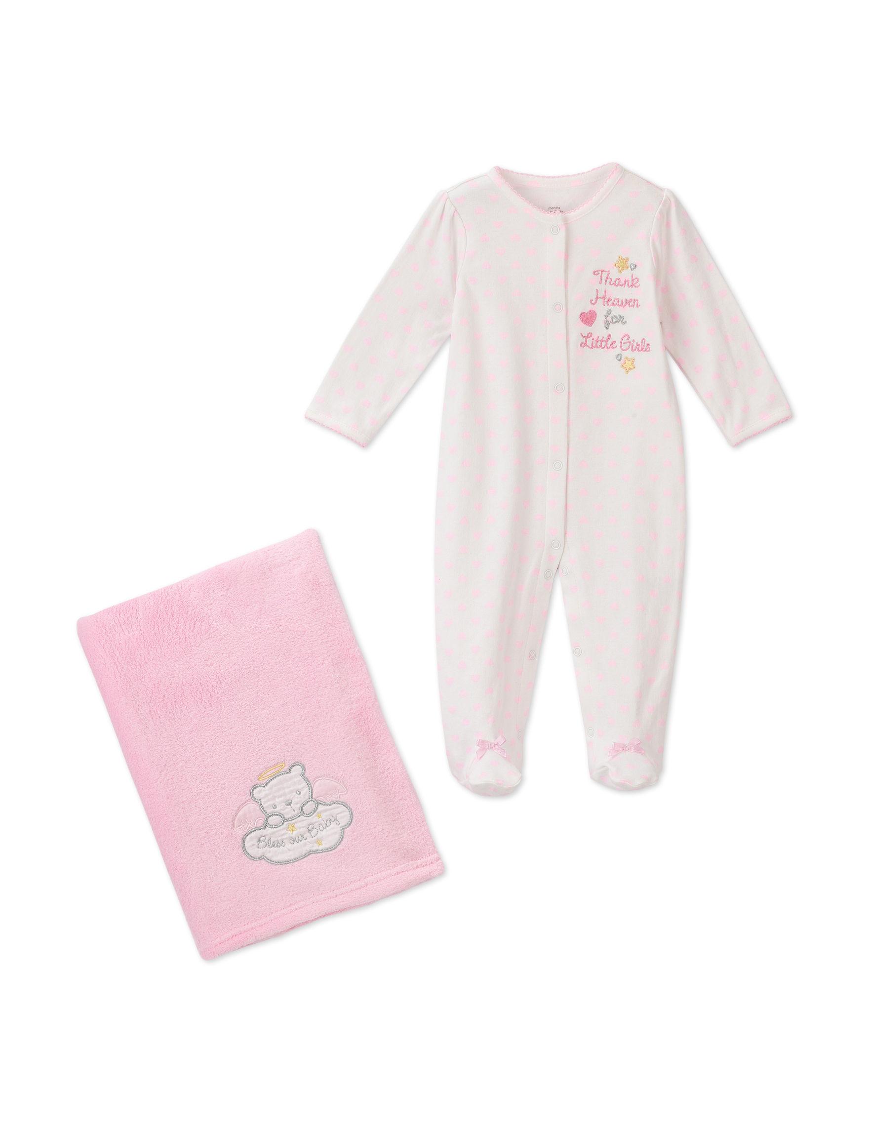 Baby Starters 2 pc Thank Heaven for Little Girls Sleep & Play