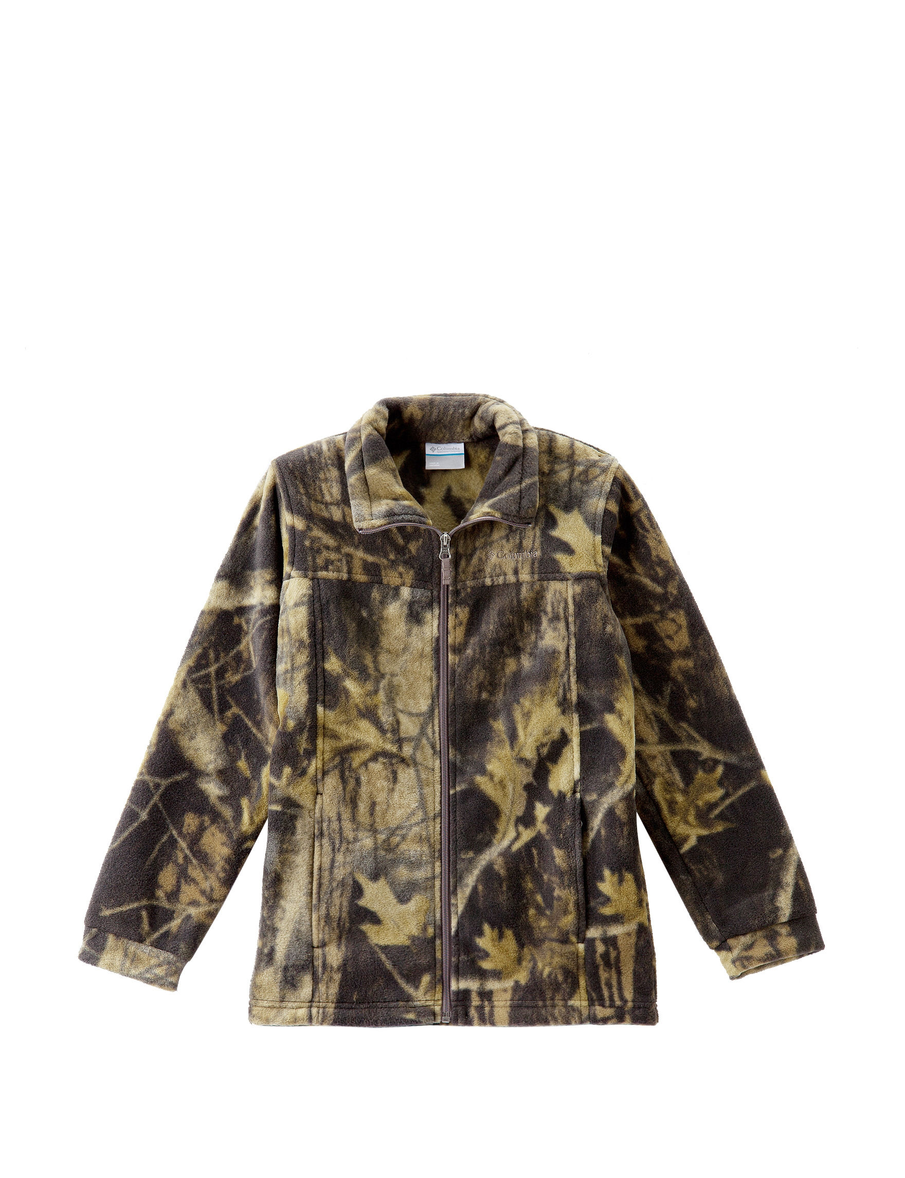 2dd17fe6660fd Columbia Timberwolf Camo Print Fleece Jacket – Boys 8-20 | Stage Stores
