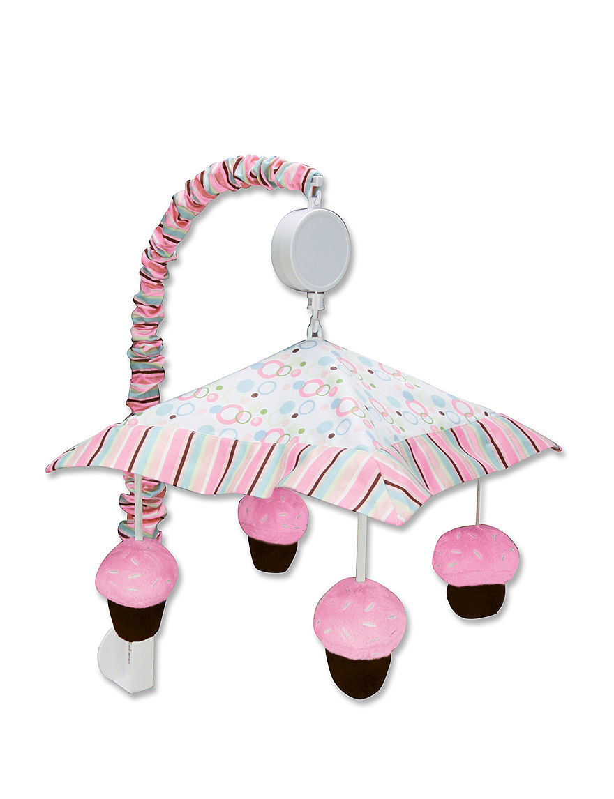 Trend Lab Pink / White Sound & Light Soothers