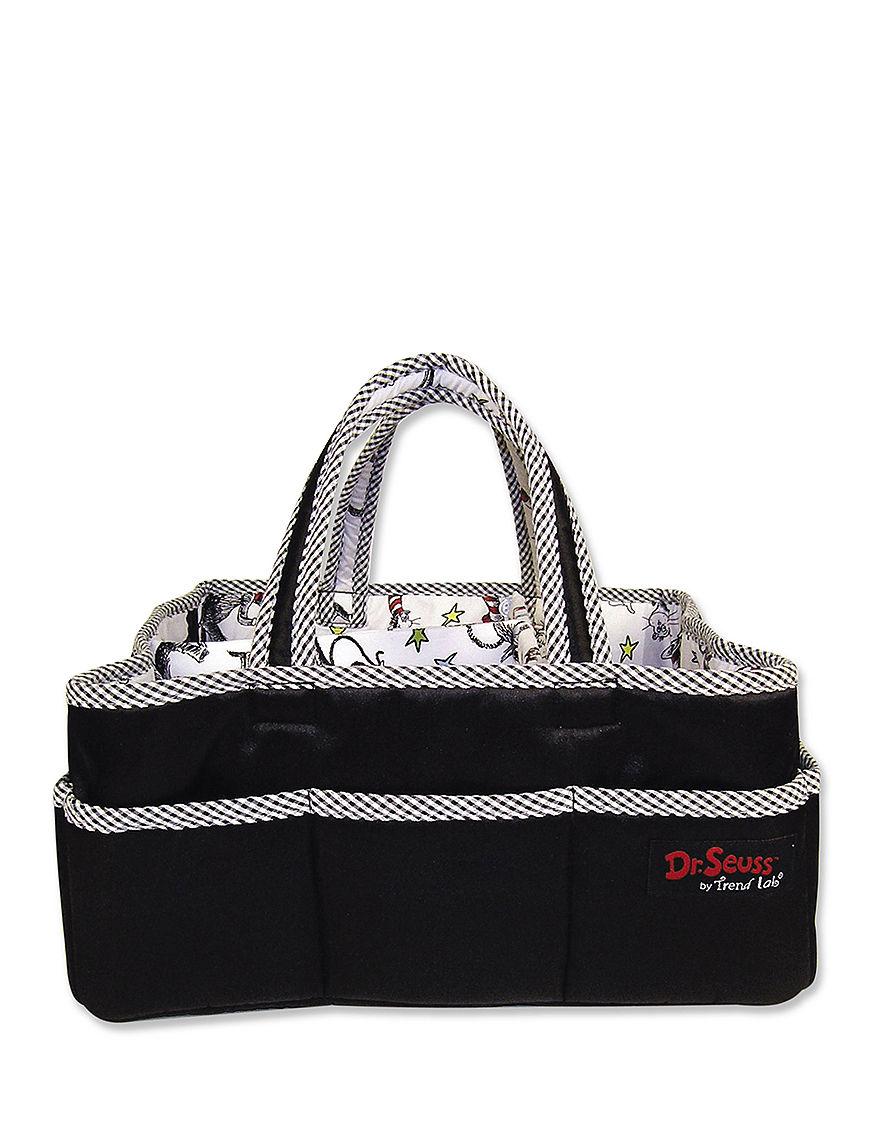 Licensed Black / White Diaper Bags