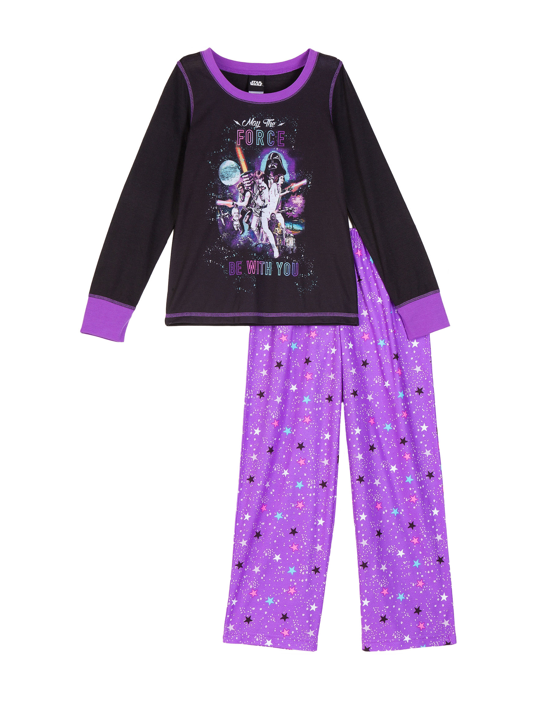 Licensed Purple Pajama Sets