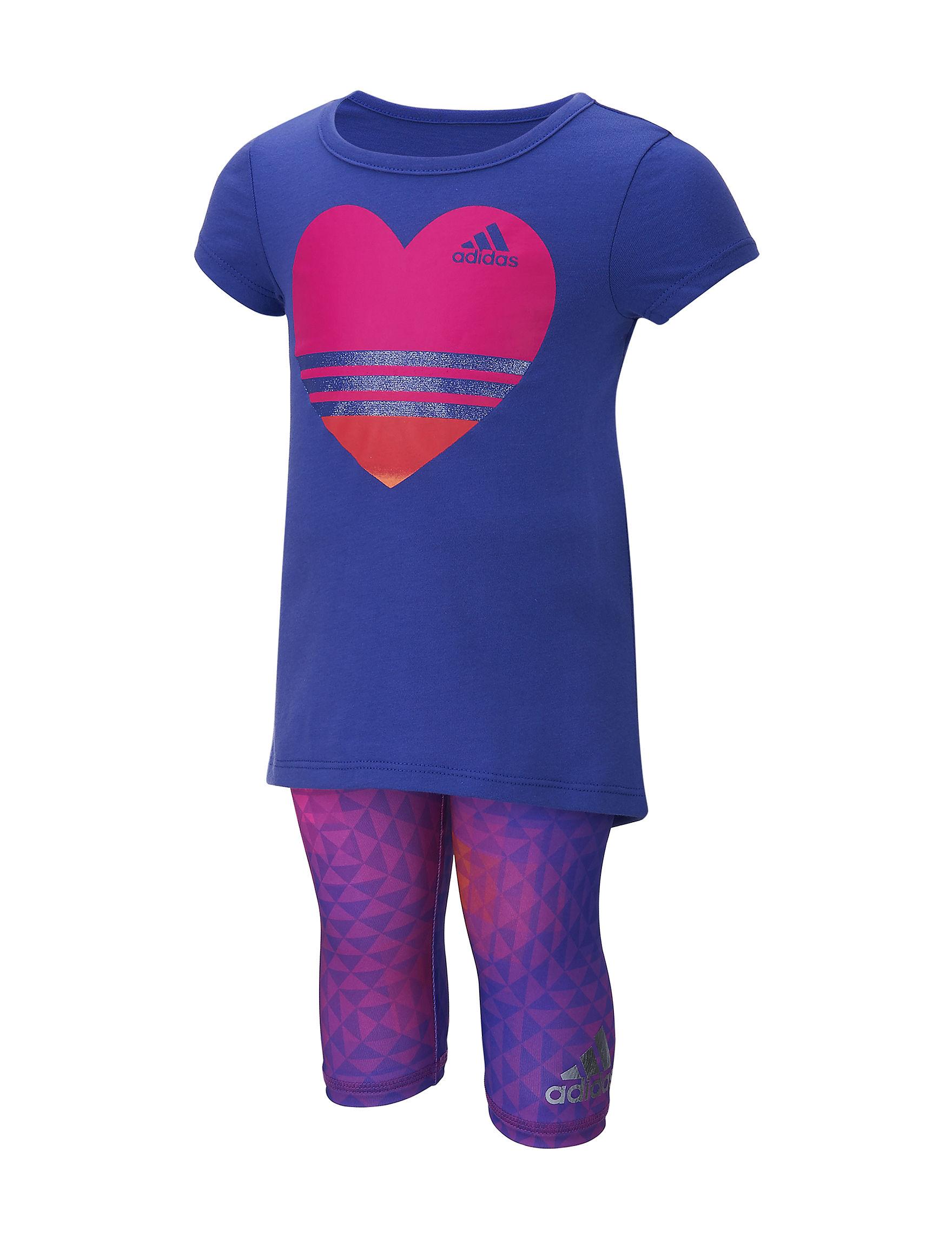 Adidas Purple