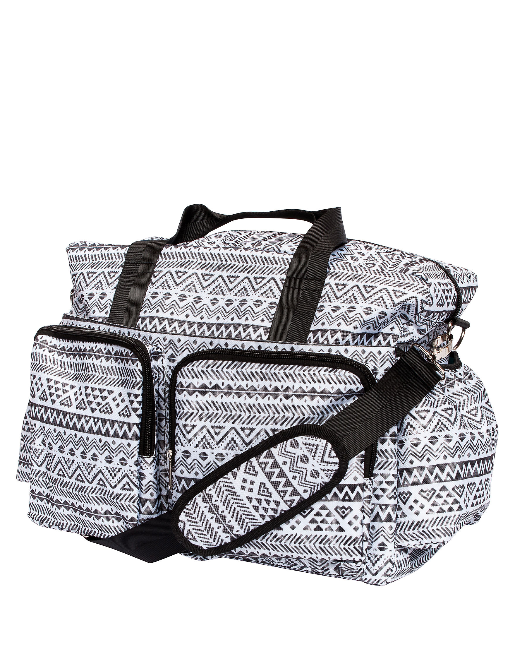Trend Lab Black /  White Diaper Bags