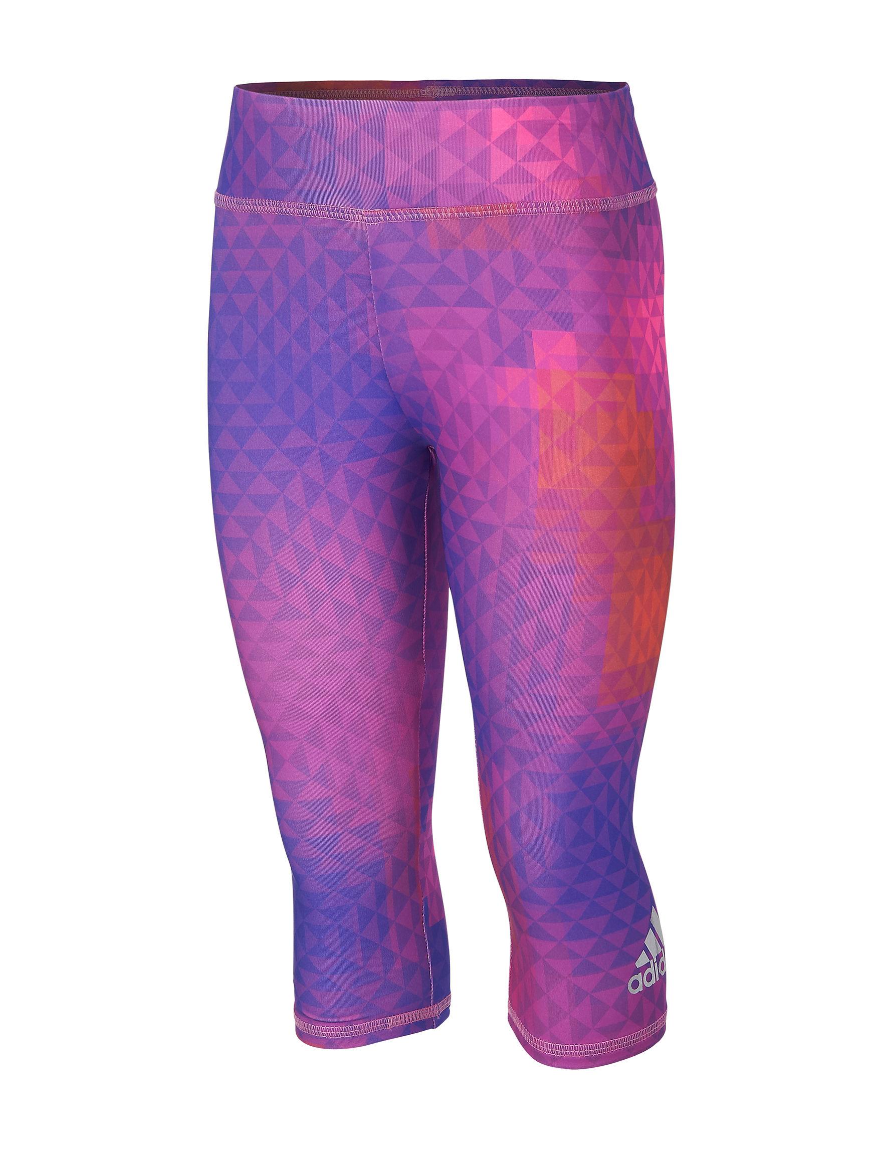 Adidas Purple Leggings