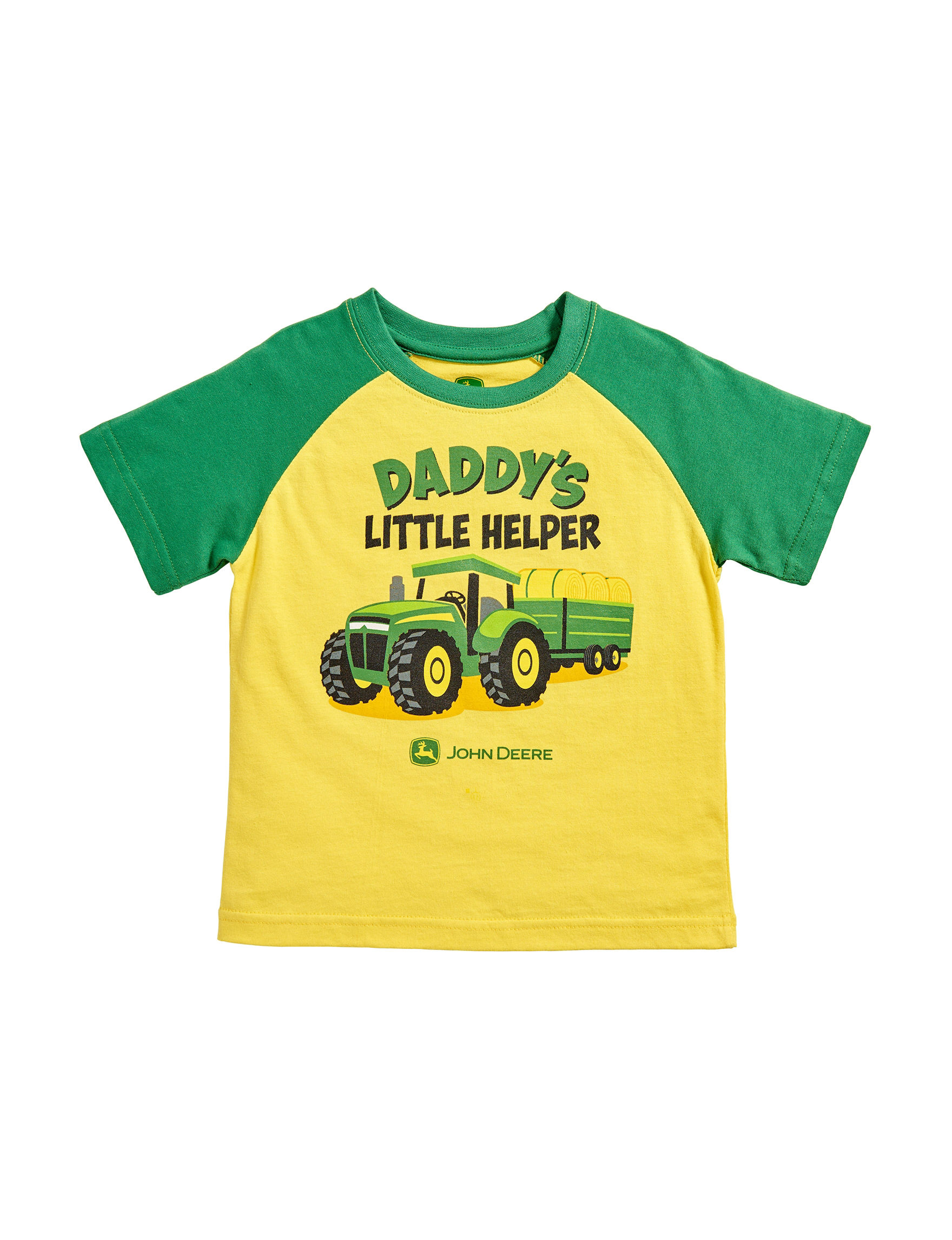 John Deere Daddys Little Helper T Shirt Baby 12 24 Mos Stage