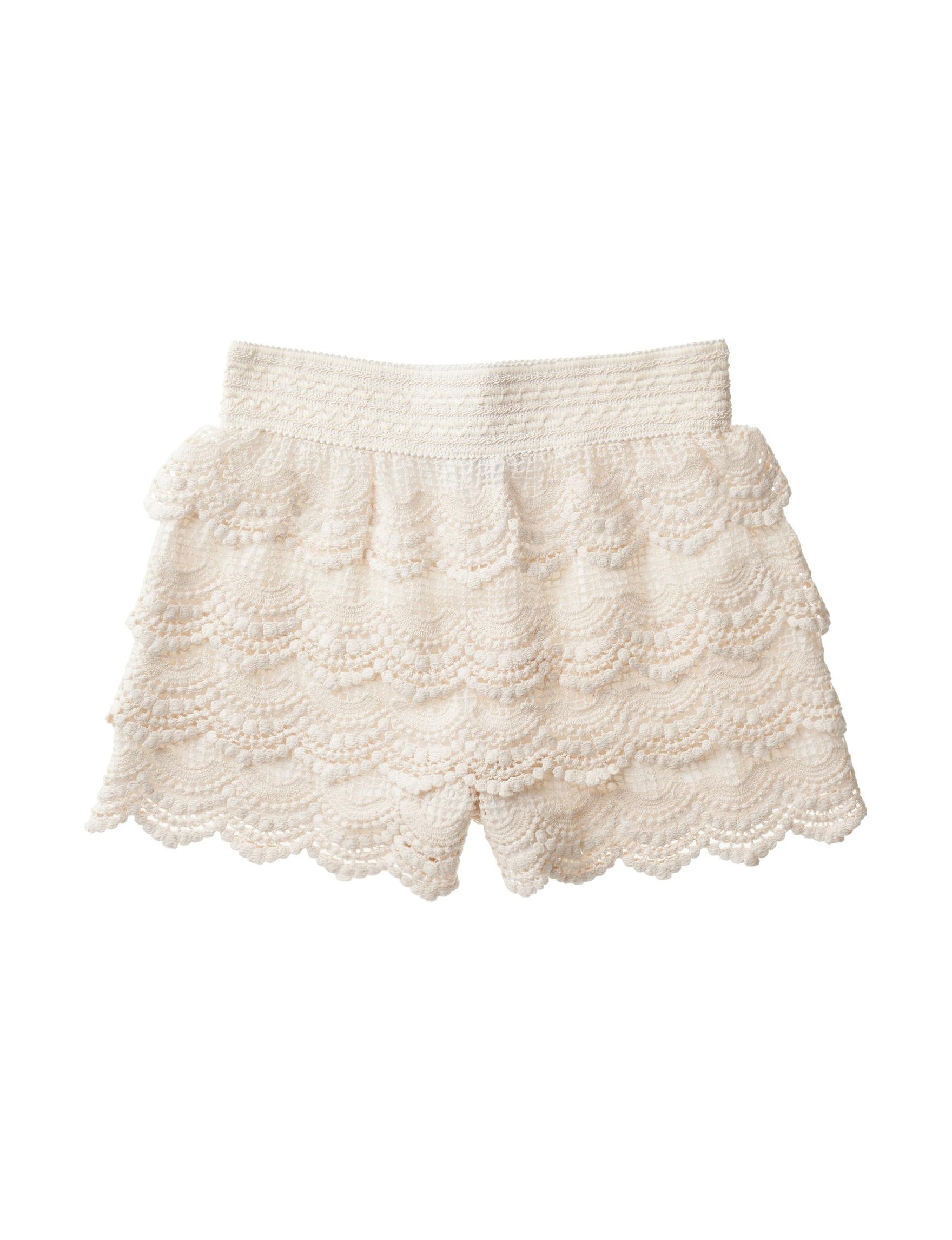 My Michelle Ivory Soft Shorts