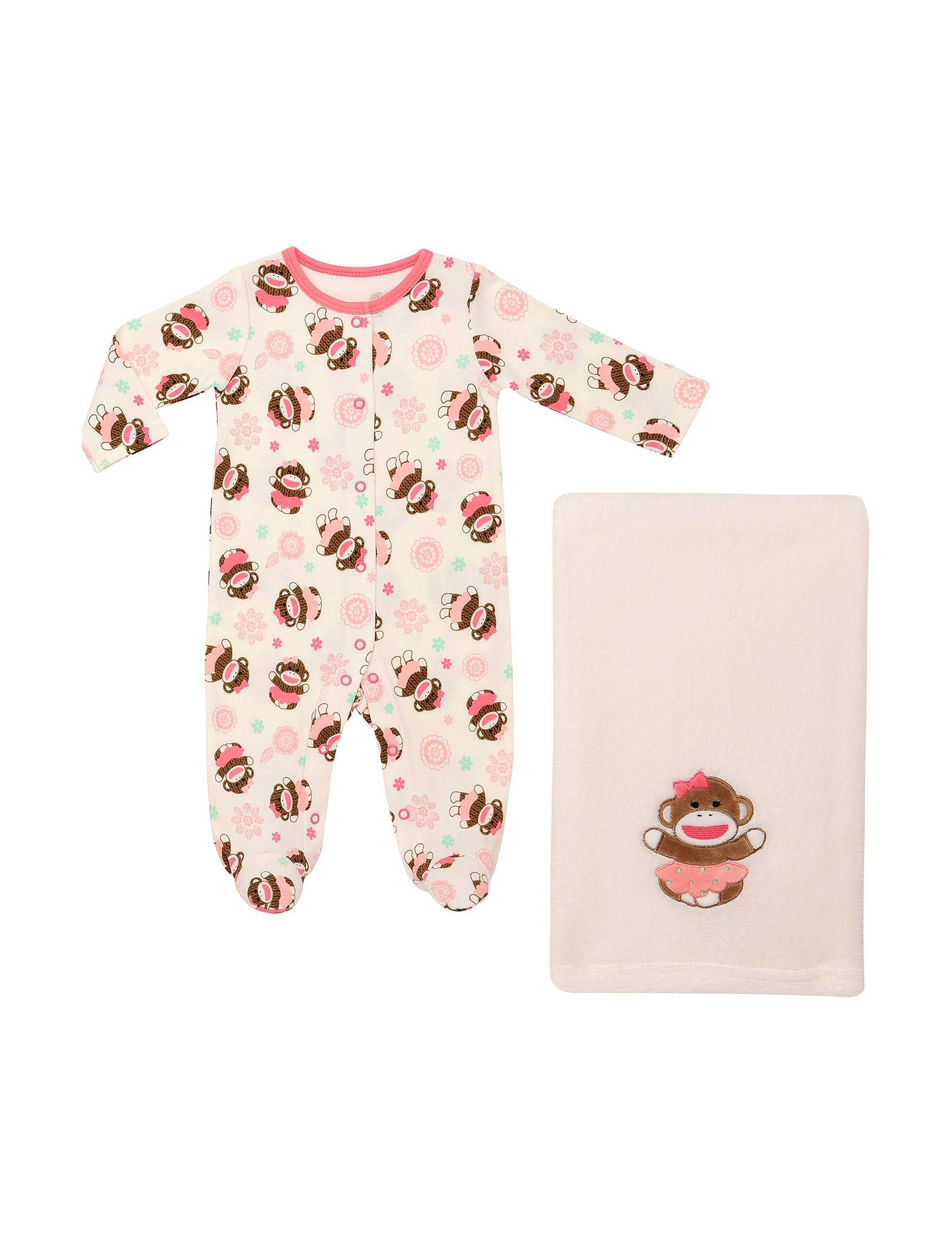 Baby Starters Pink / Ivory