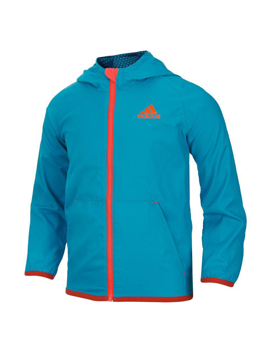 Adidas Teal Fleece & Soft Shell Jackets