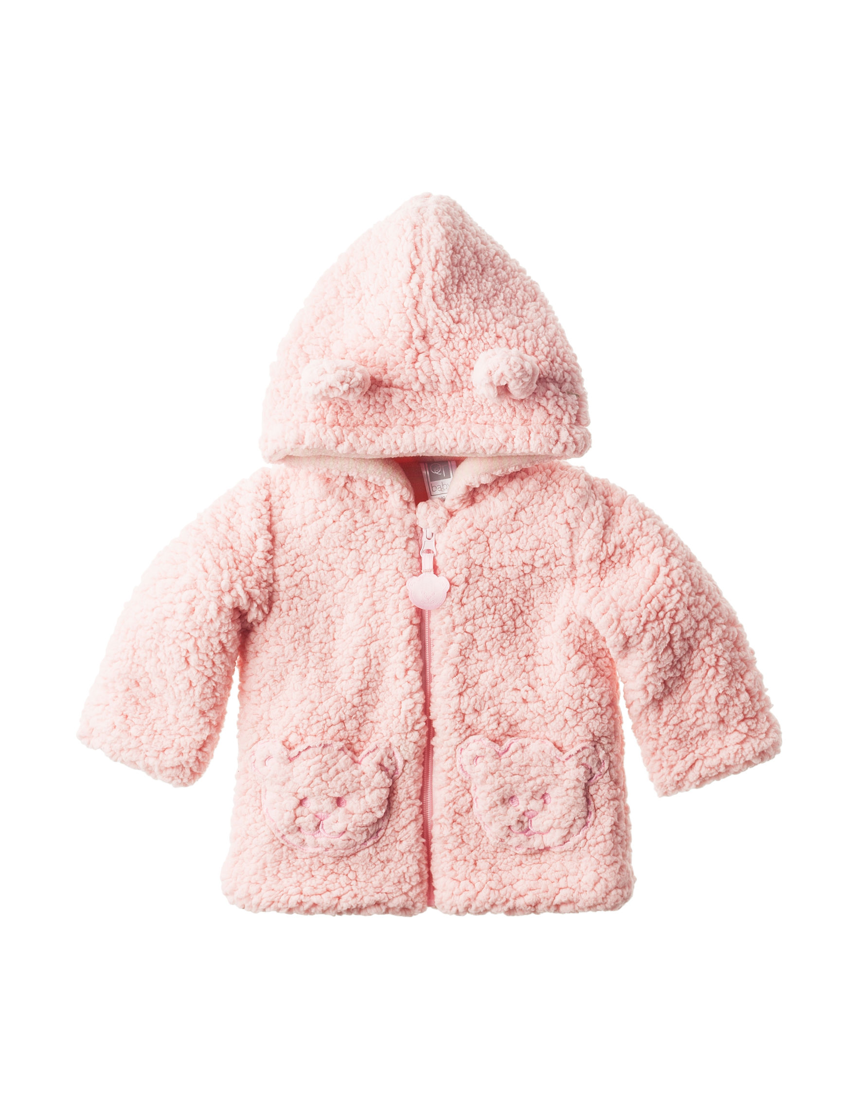 qt baby shaggy faux fur jacket baby 3 9 mos stage stores