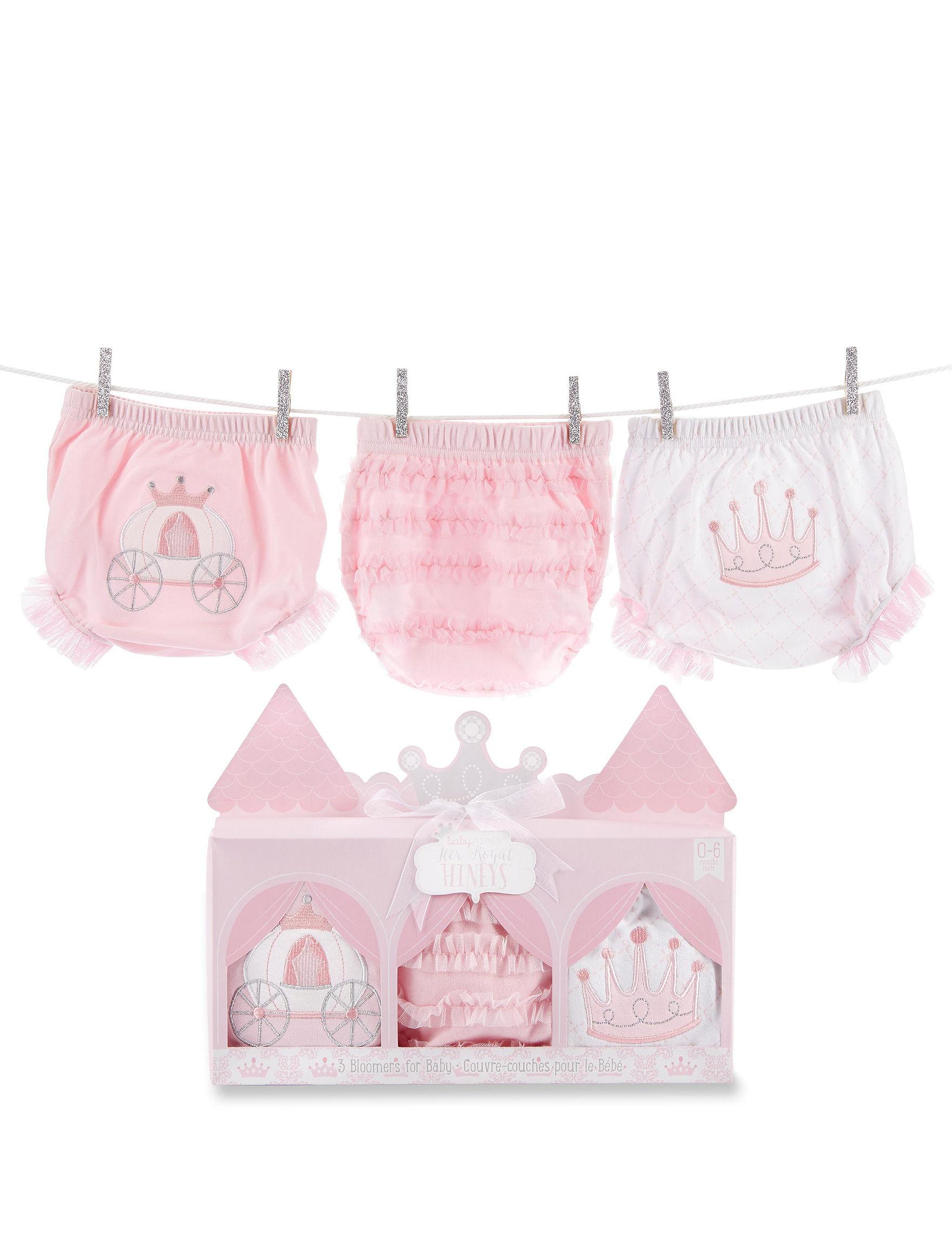 Baby Aspen Pink / White