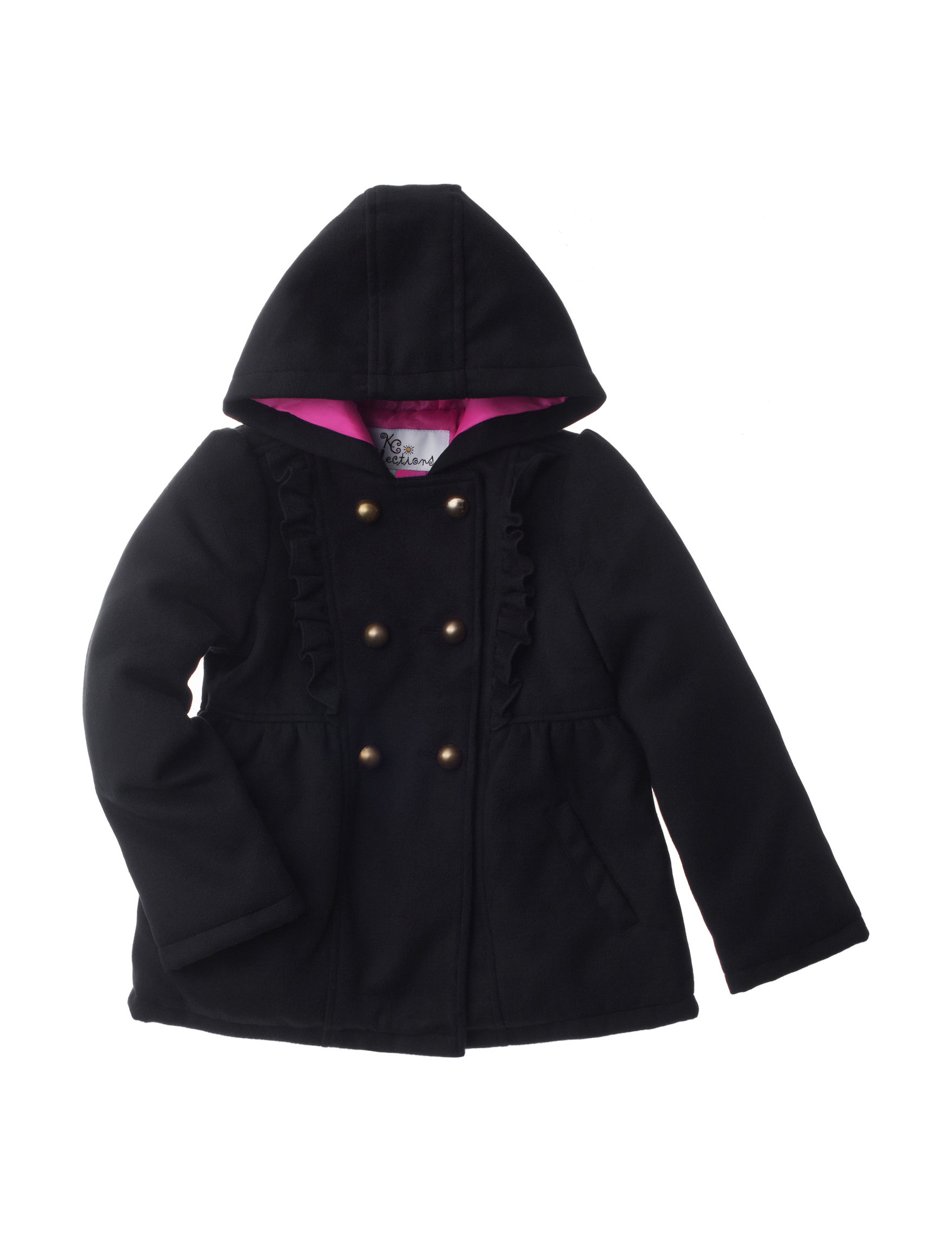 KC Collections Black Fleece & Soft Shell Jackets