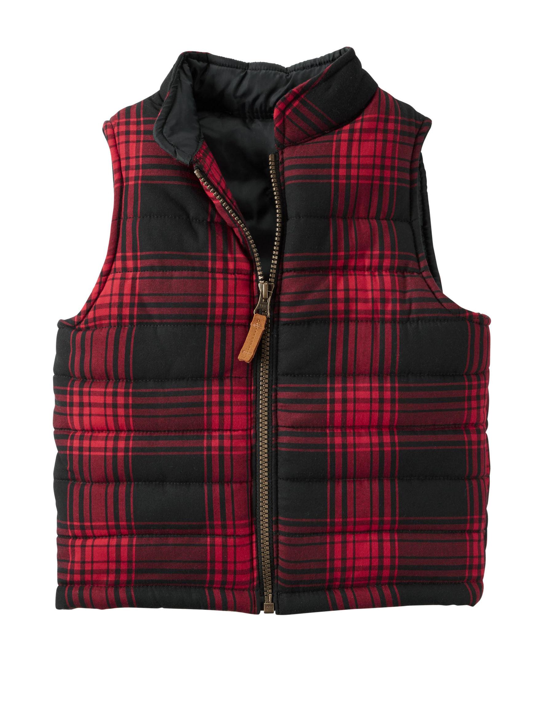 Carter's Plaid Fleece & Soft Shell Jackets