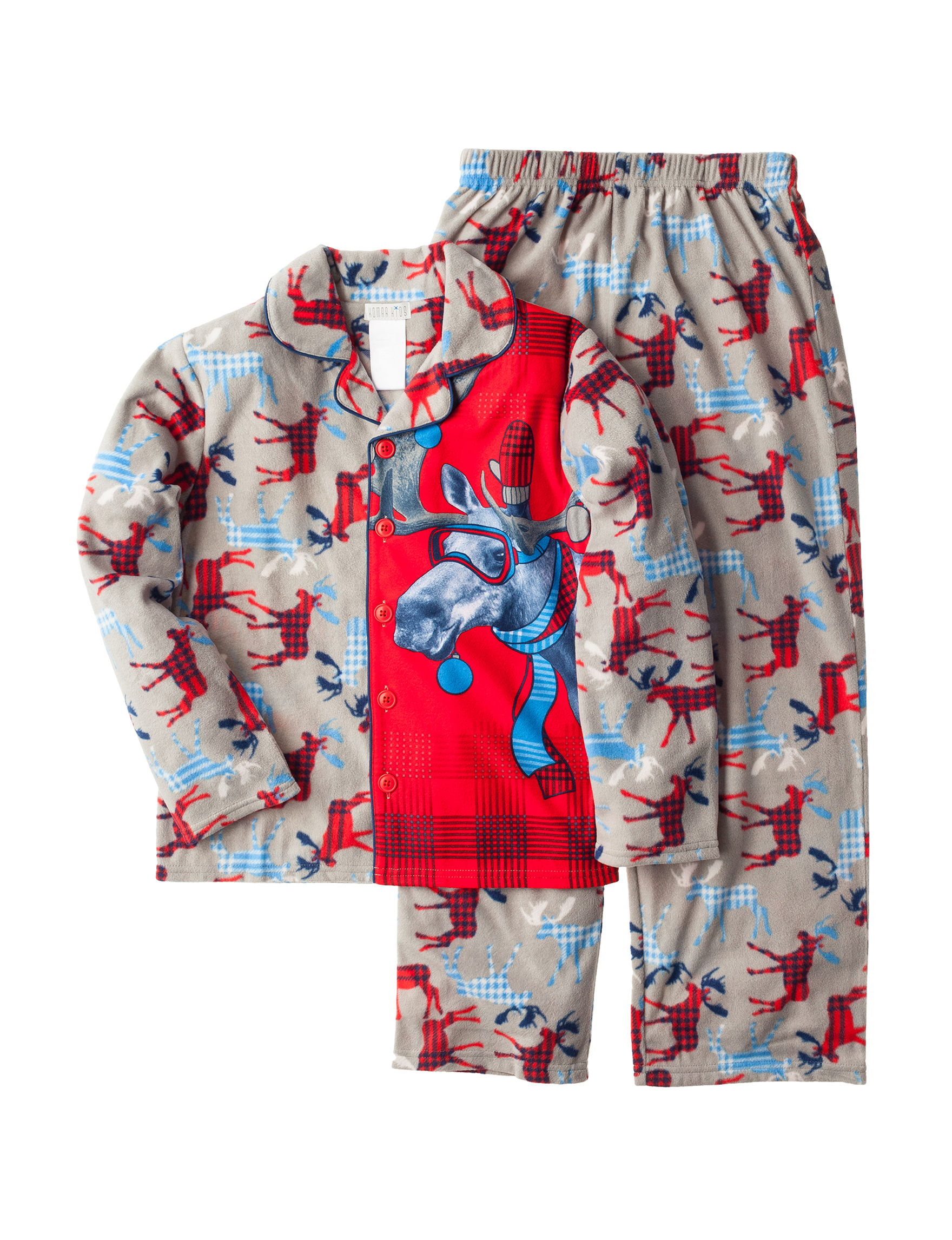 Komar Kids Charcoal Pajama Sets