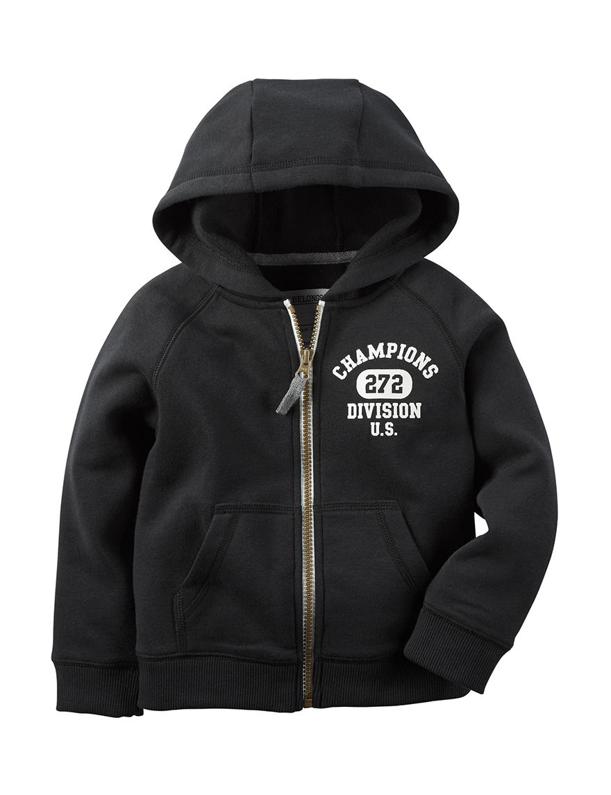 Carter's Black Pull-overs