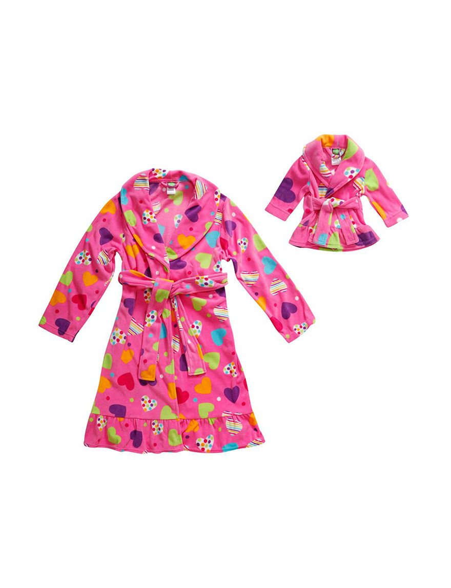Dollie & Me Pink Robes, Wraps & Dusters