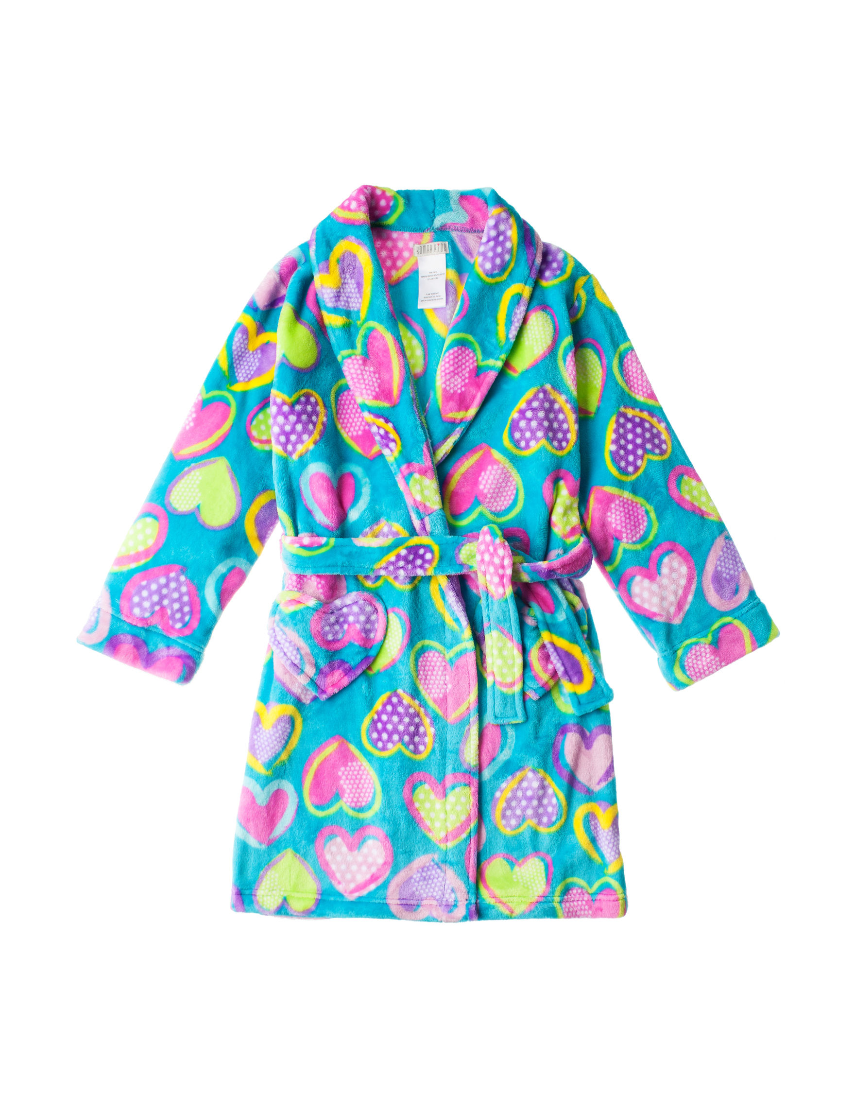 Komar Kids Turquoise Robes, Wraps & Dusters