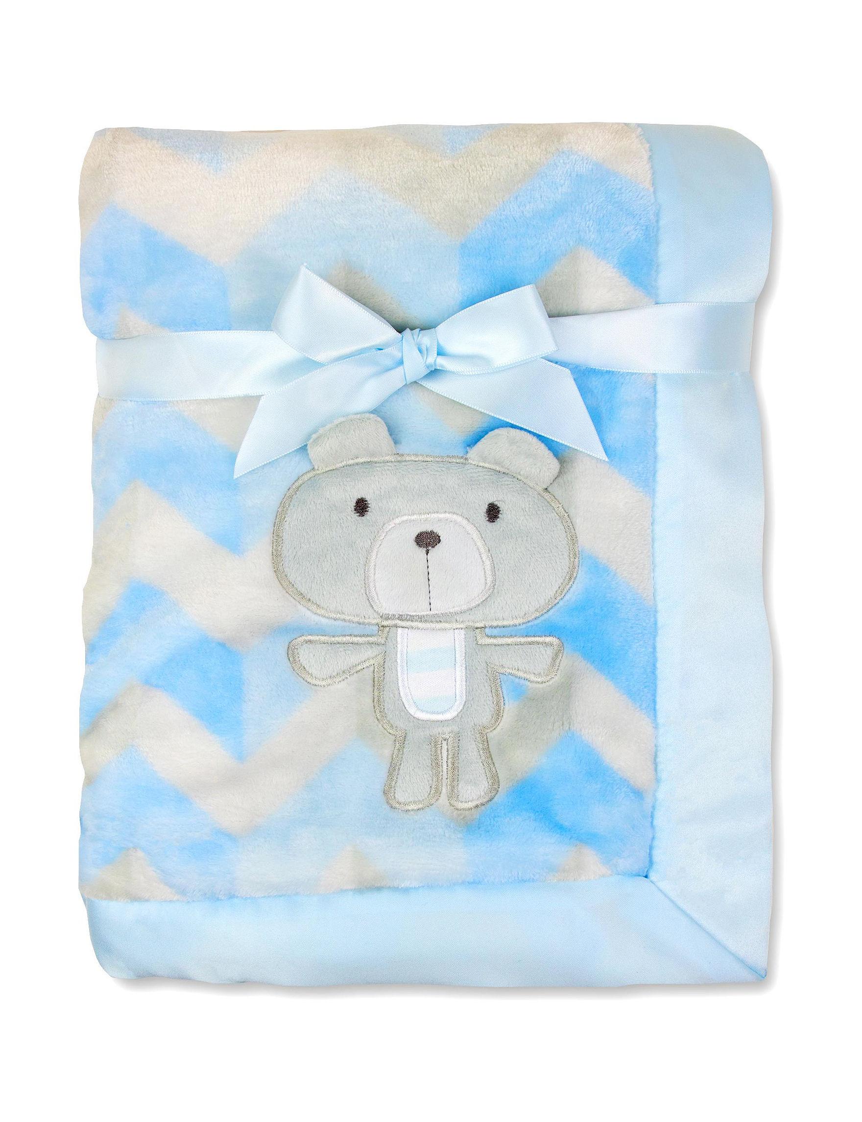 Baby Essentials Blue / White