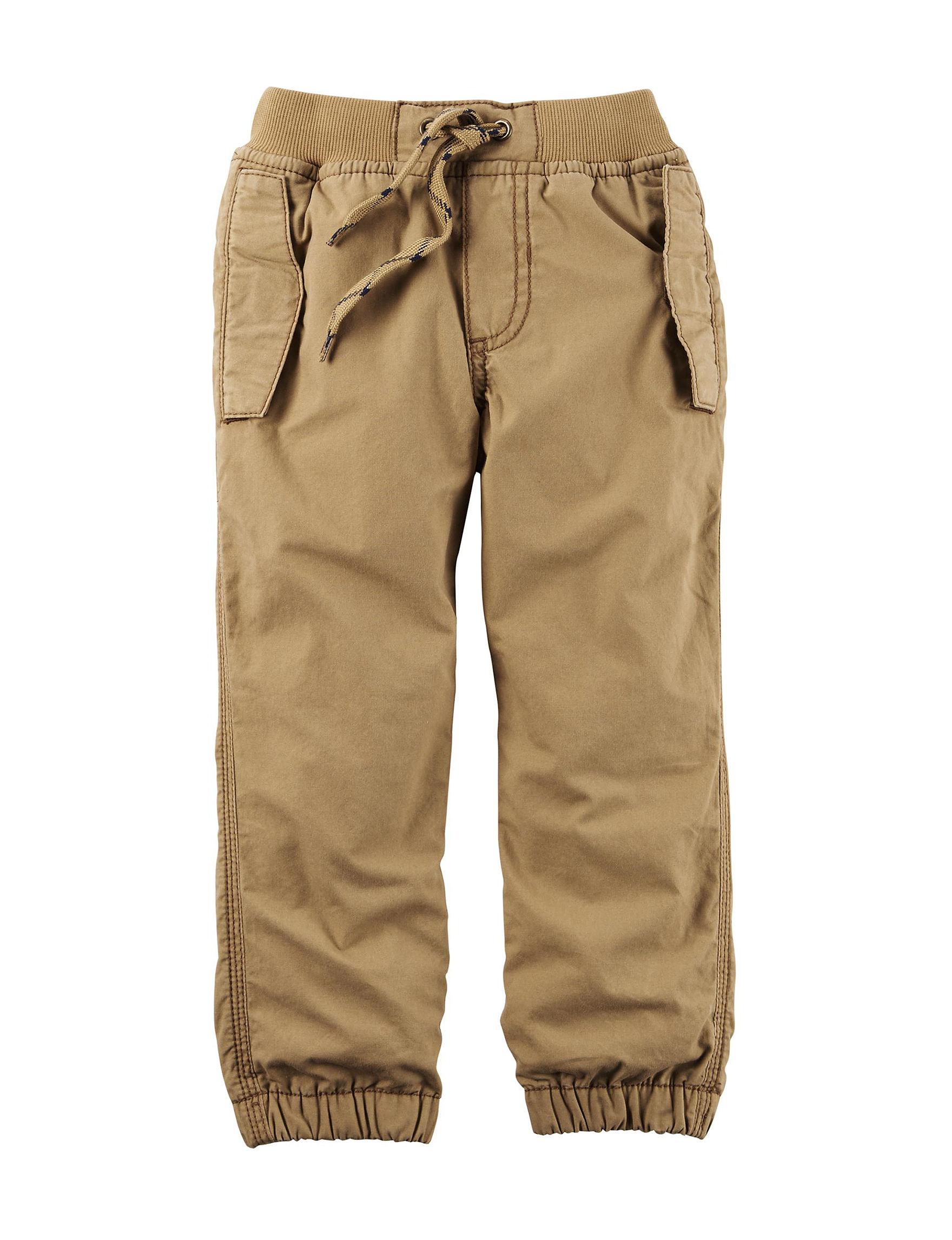 Carter's Khaki Fleece & Soft Shell Jackets