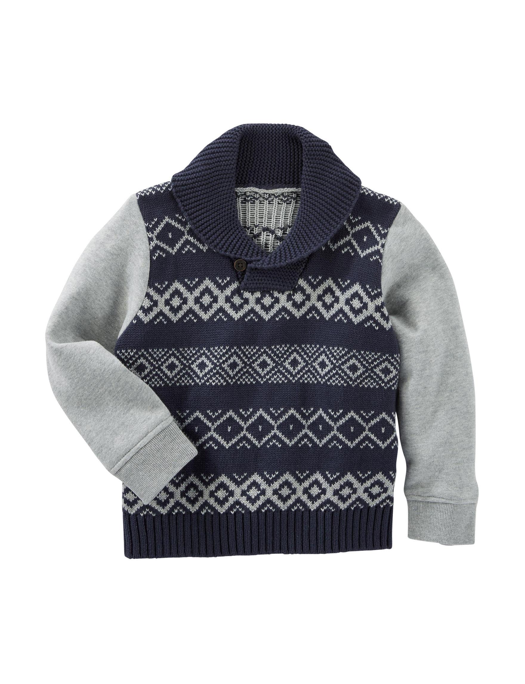 OshKosh B'gosh® Fair Isle Print Sweater - Boys 4-7   Stage Stores
