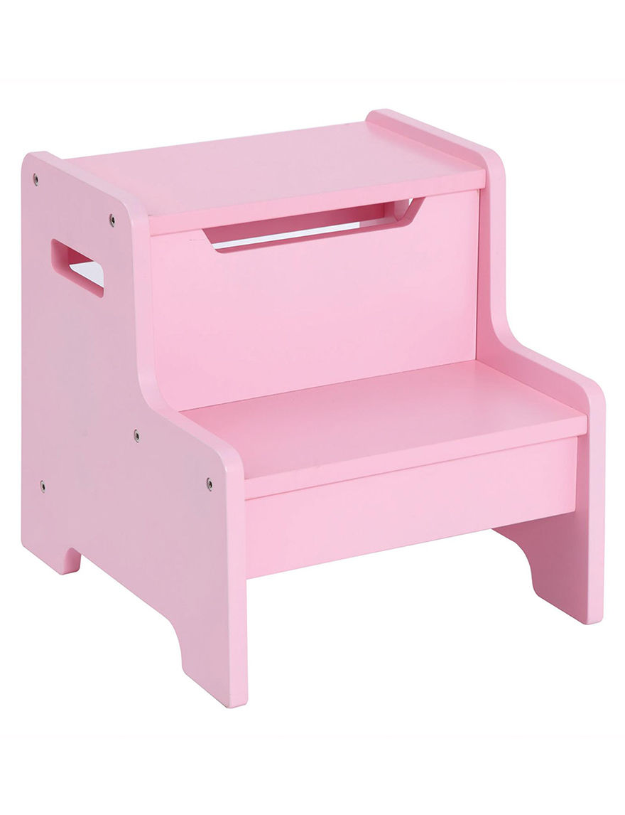 Guidecraft Expressions Step Stool Pink Stage Stores