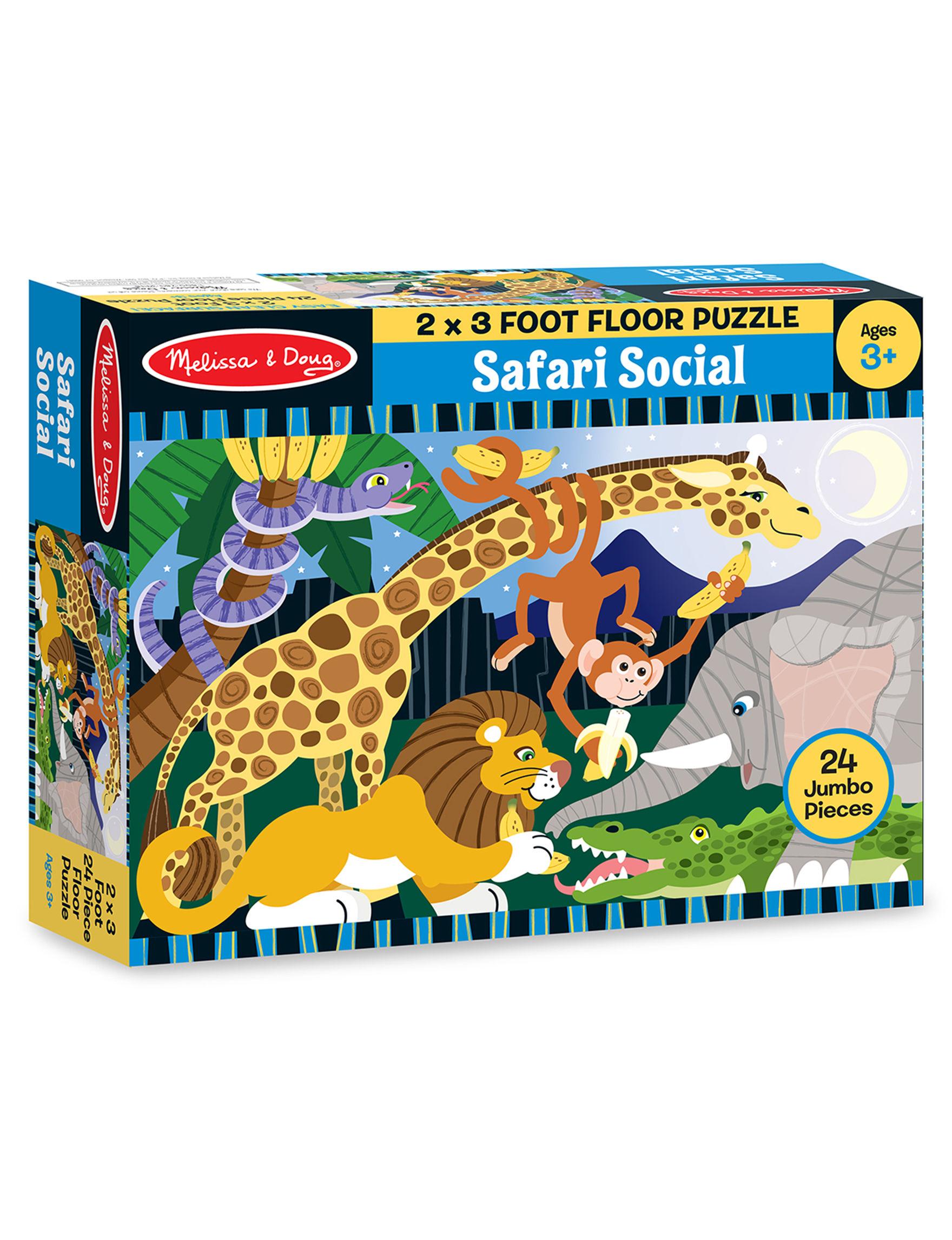 Melissa & Doug Multi Puzzles