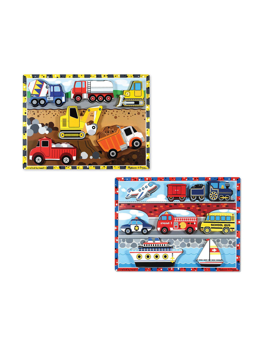Melissa & Doug Multi Puzzles Game Room