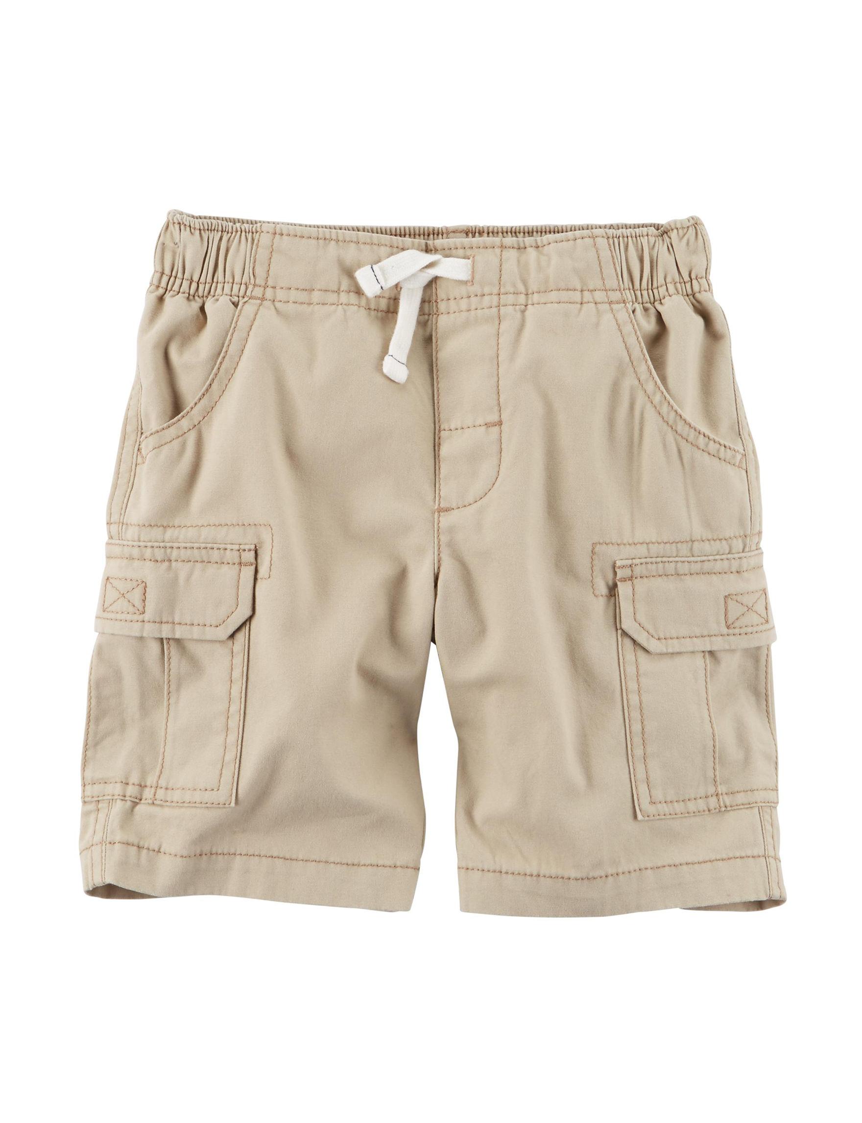 Boys' Basic Flat-Front Short with Adjustable Waist