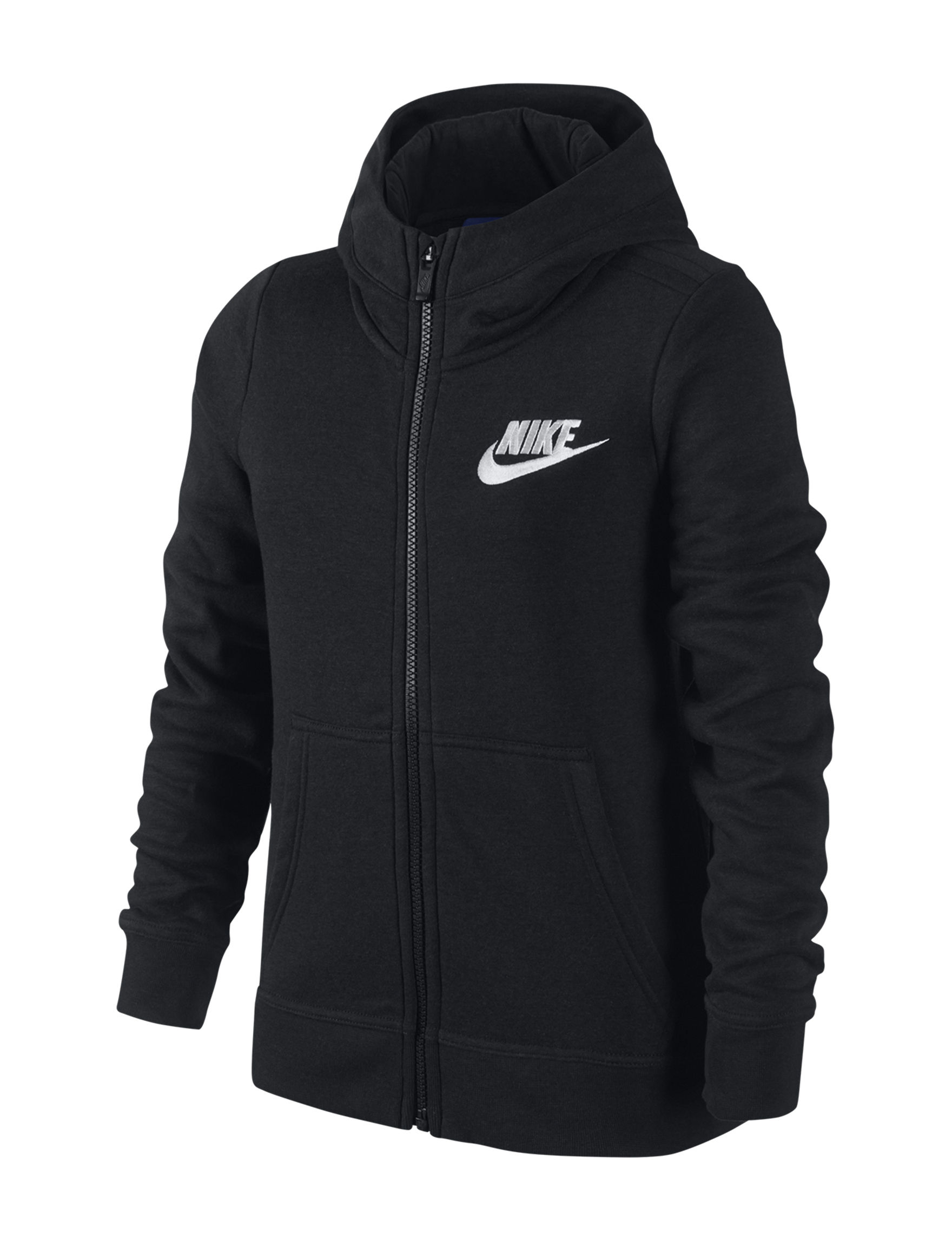 Nike Black Fleece & Soft Shell Jackets