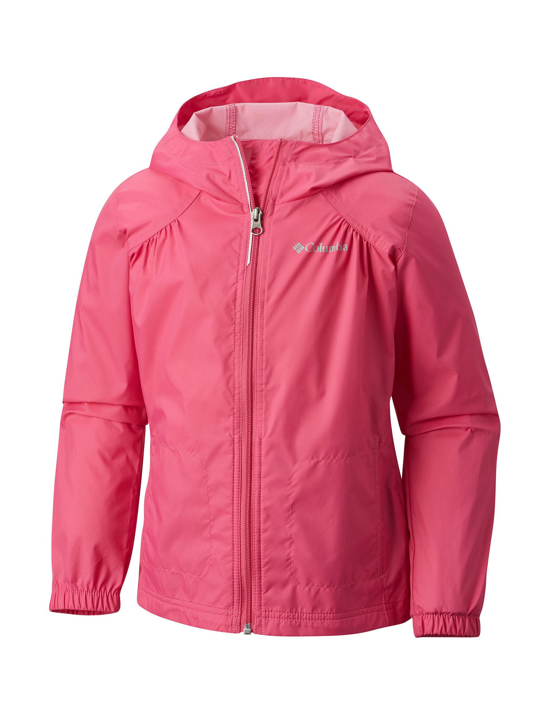 Columbia Pink Rain & Snow Jackets