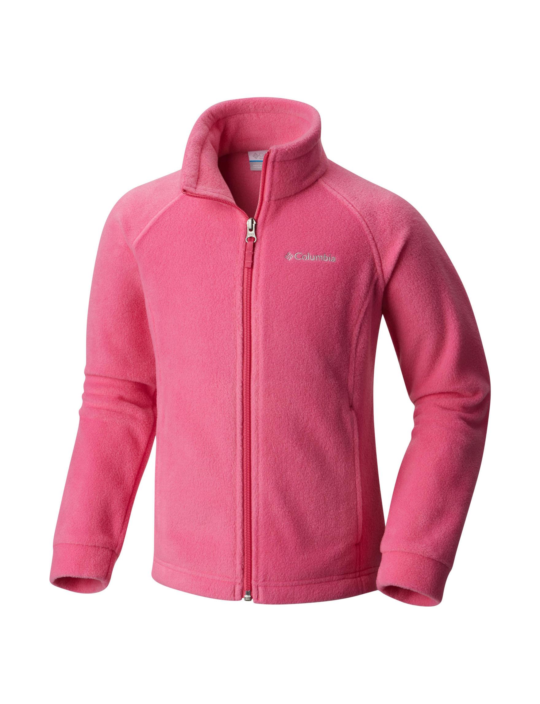 Columbia Pink Fleece & Soft Shell Jackets