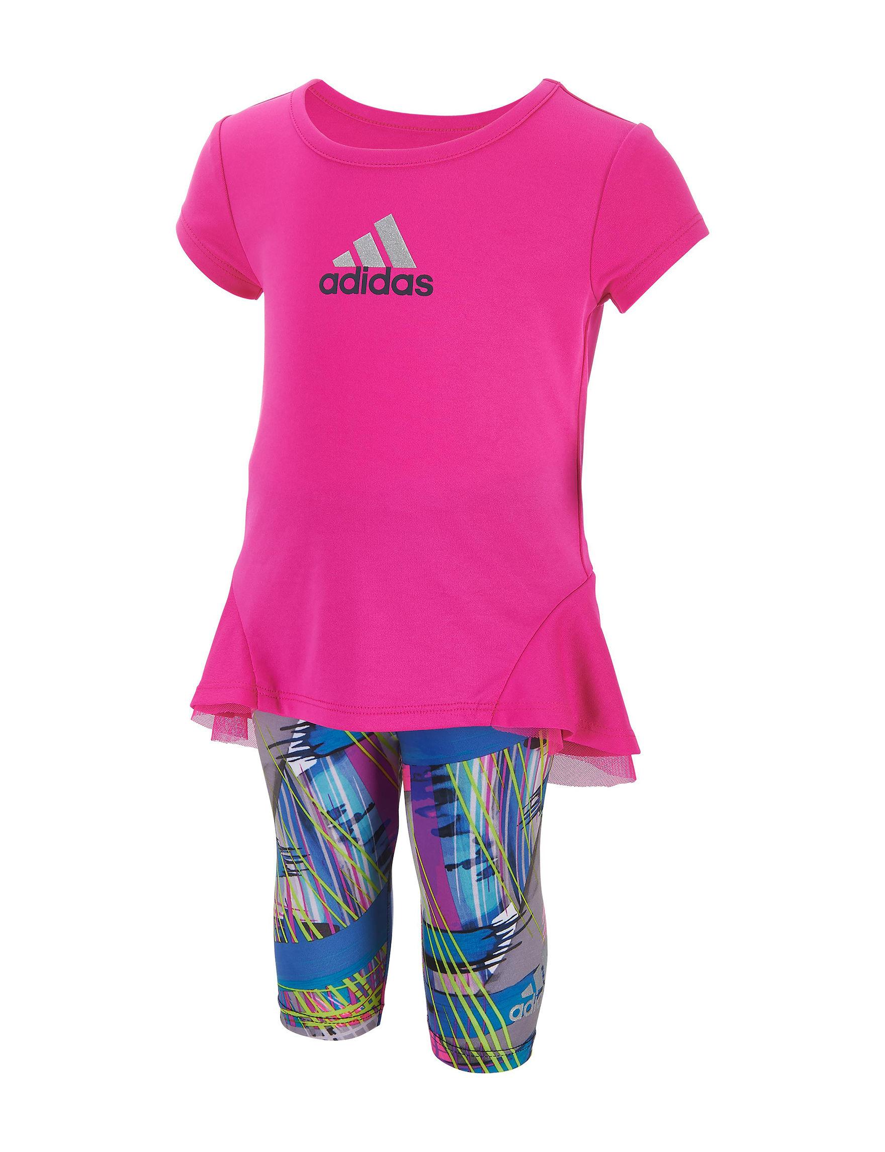 Adidas Neon Pink