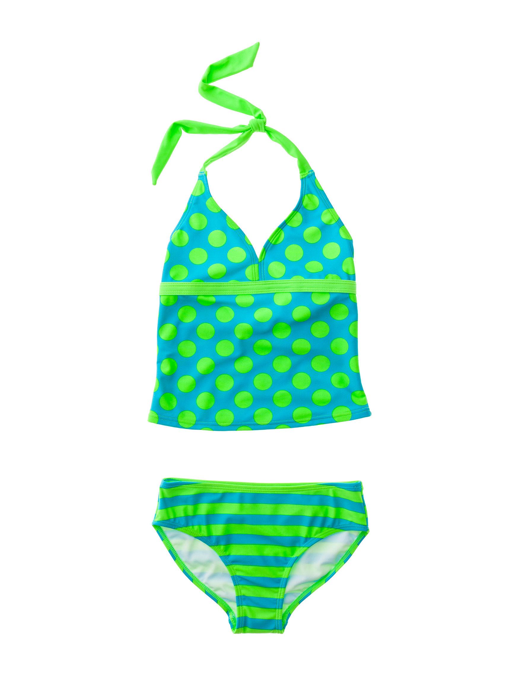 St Tropez Turquoise Swimsuit Sets